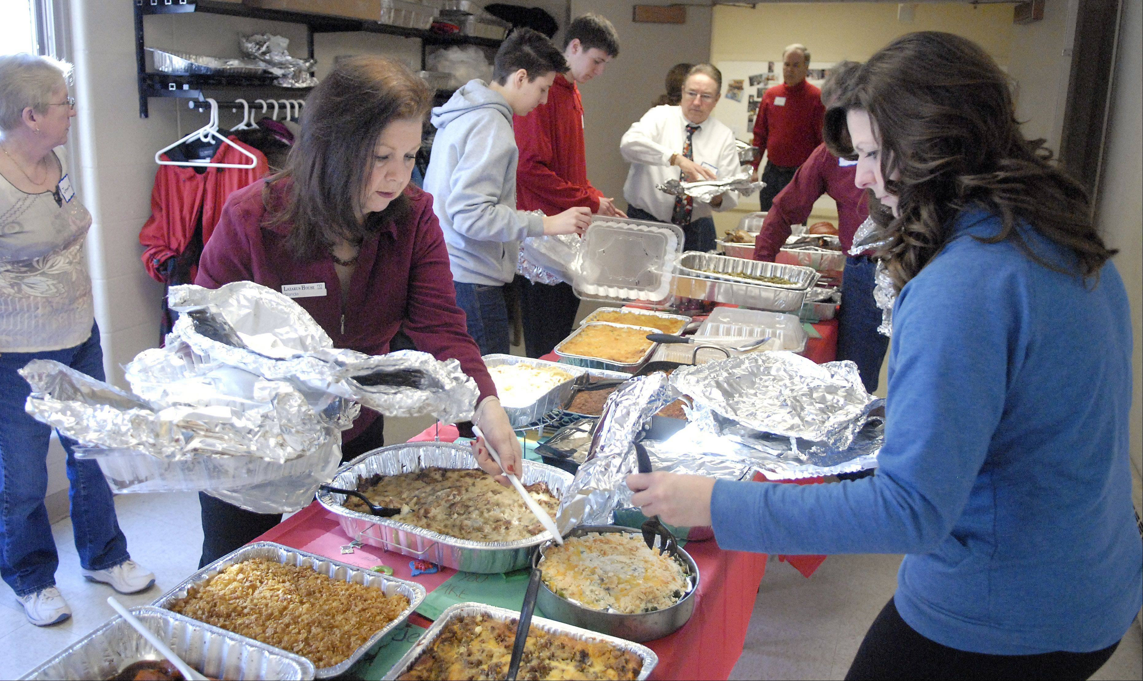 Lazarus House is asking for donations of entrees, side dishes and appetizers for its annual Christmas Brunch on Dec. 25. Financial donations or gift cards also are welcome.