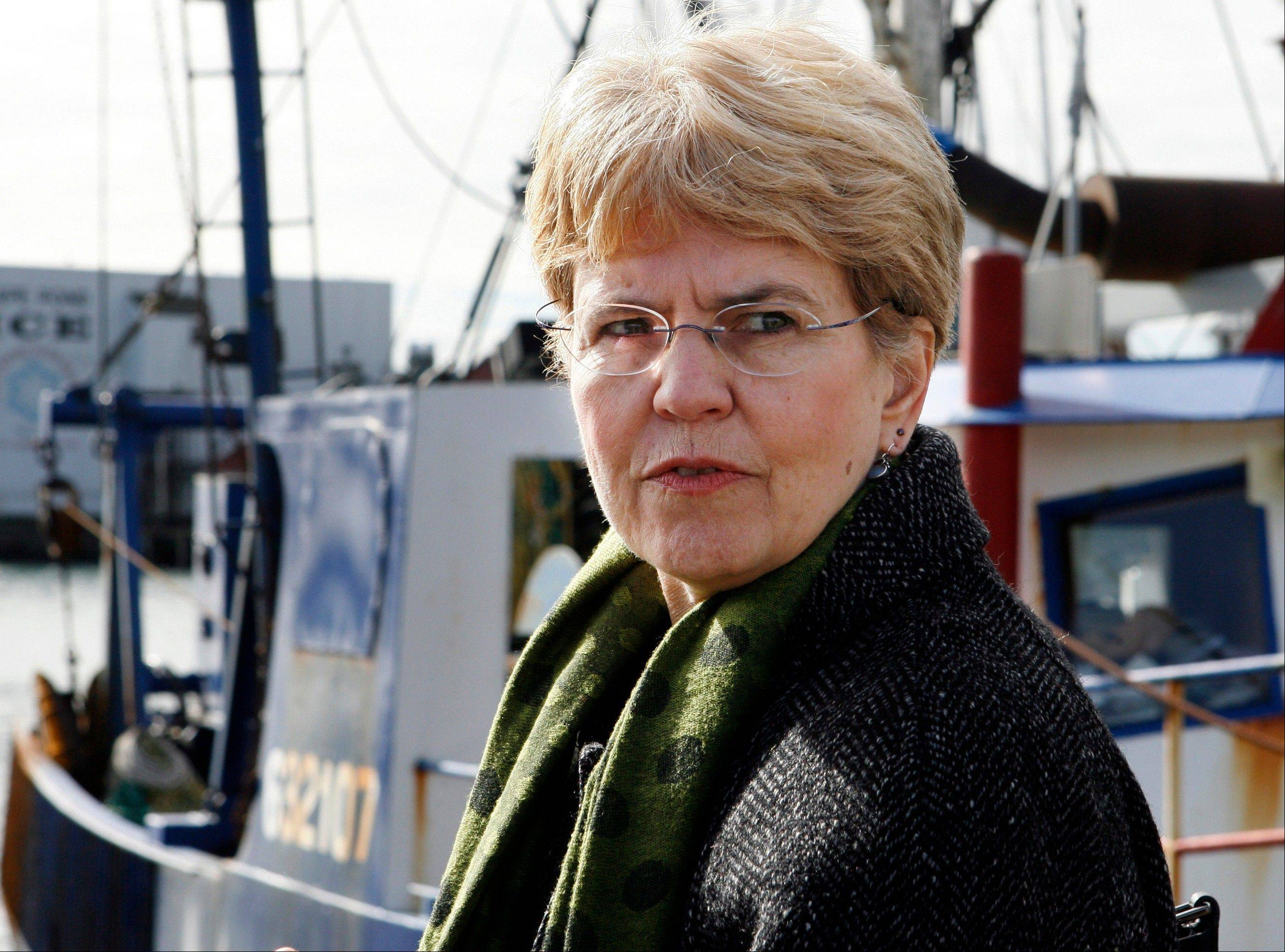 National Oceanic and Atmospheric Administration chief Jane Lubchenco will leave her post at the end of February 2013.