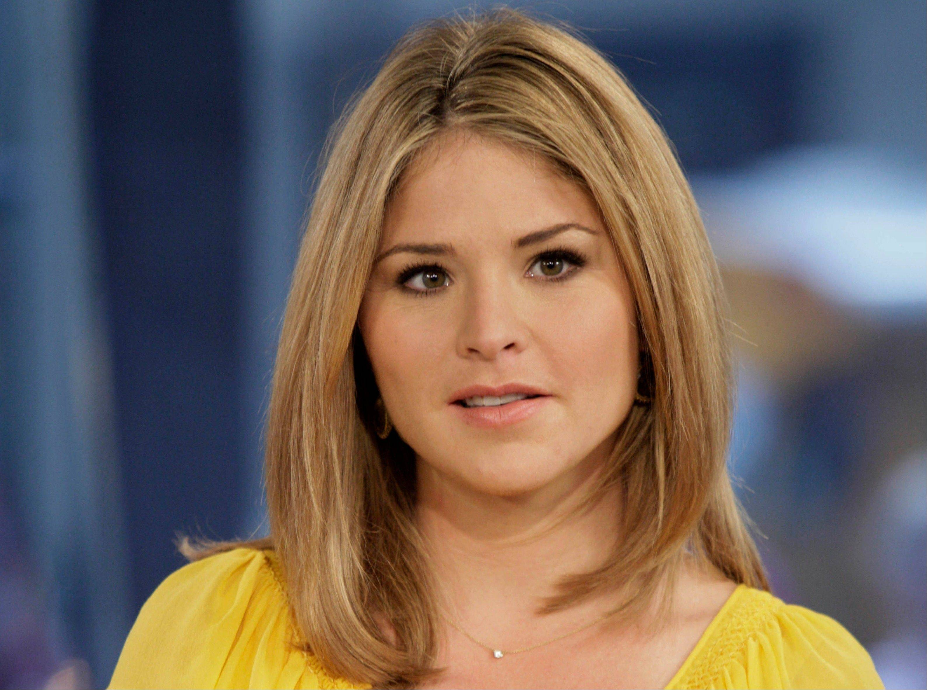 Former first daughter Jenna Bush Hager announced Wednesday she's pregnant with her first child, due in the spring.