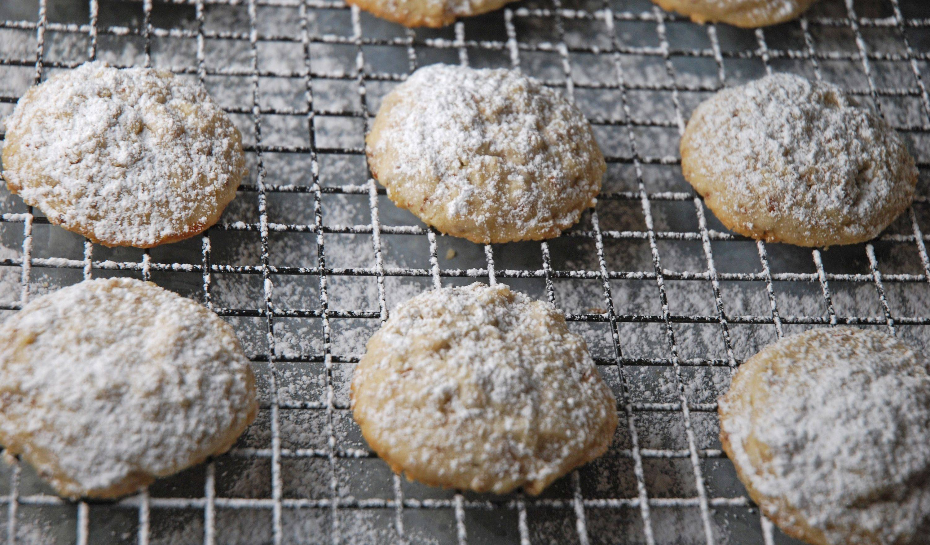 These wintry cookies are as light and delicate as a snowflake.