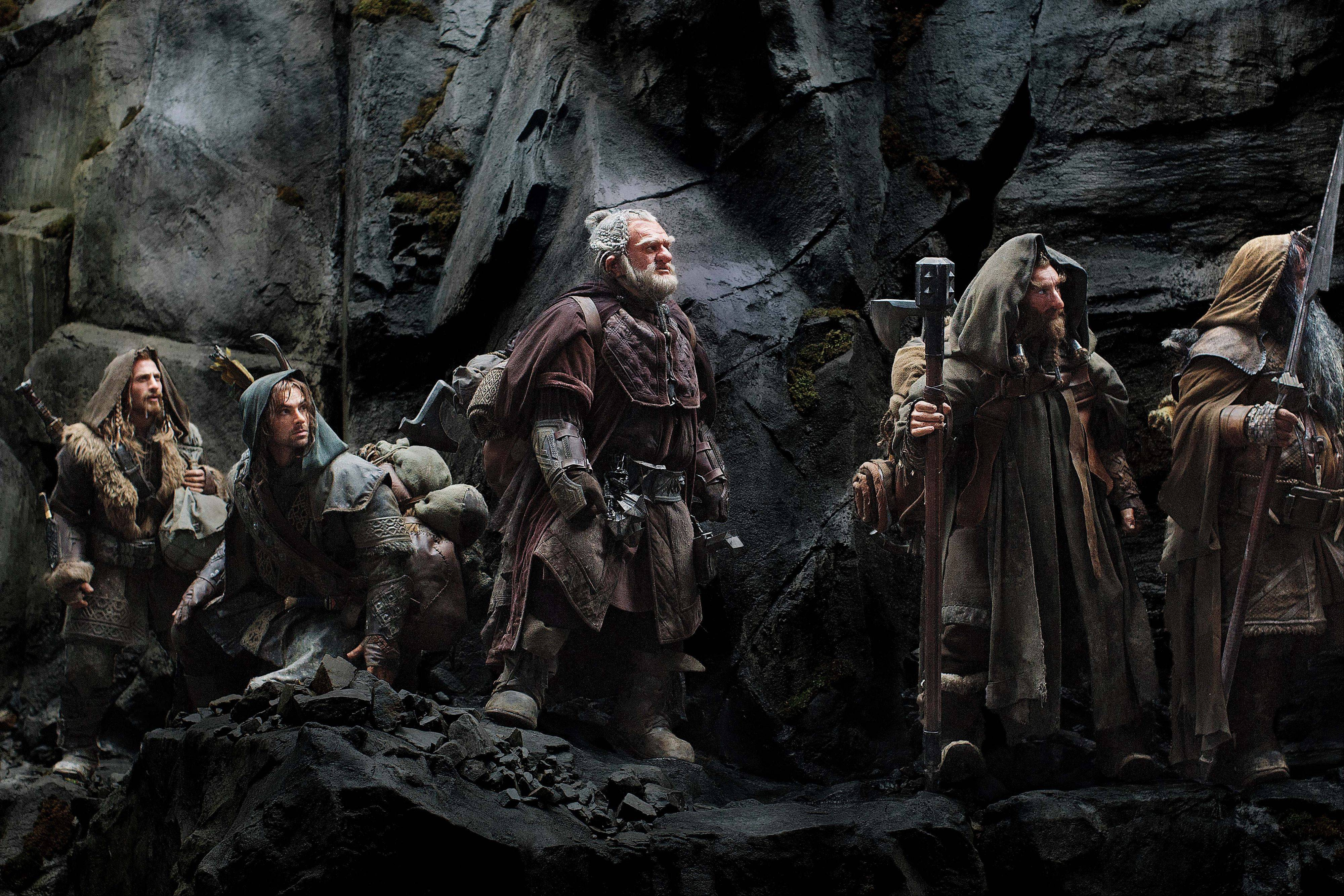 "Dwarfs, a wizard and a hobbit go on a grand quest in Peter Jackson's ""The Hobbit: An Unexpected Journey,"" a prequel to his ""Lord of the Rings"" trilogy."