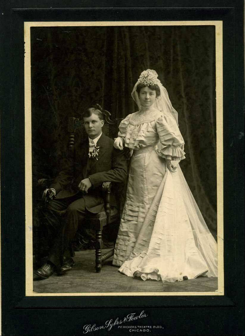 Theodore and Anna Weidner, parents of Virginia Weidner Mueller Raupp.