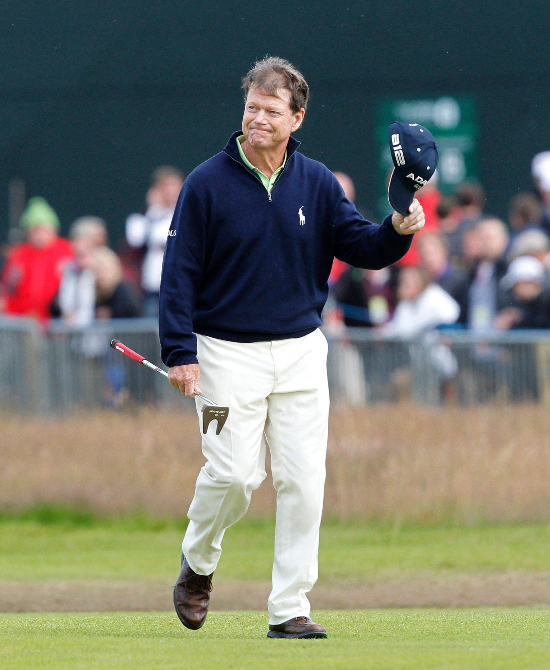 Tom Watson, shown here during the British Open Golf Championship last summer, is rumored to be the next U.S. Ryder Cup captain. Golf Digest has reported that the PGA of America plans to pick Watson as the 2014 Ryder Cup captain, and the announcement is scheduled to be made Thursday morning.