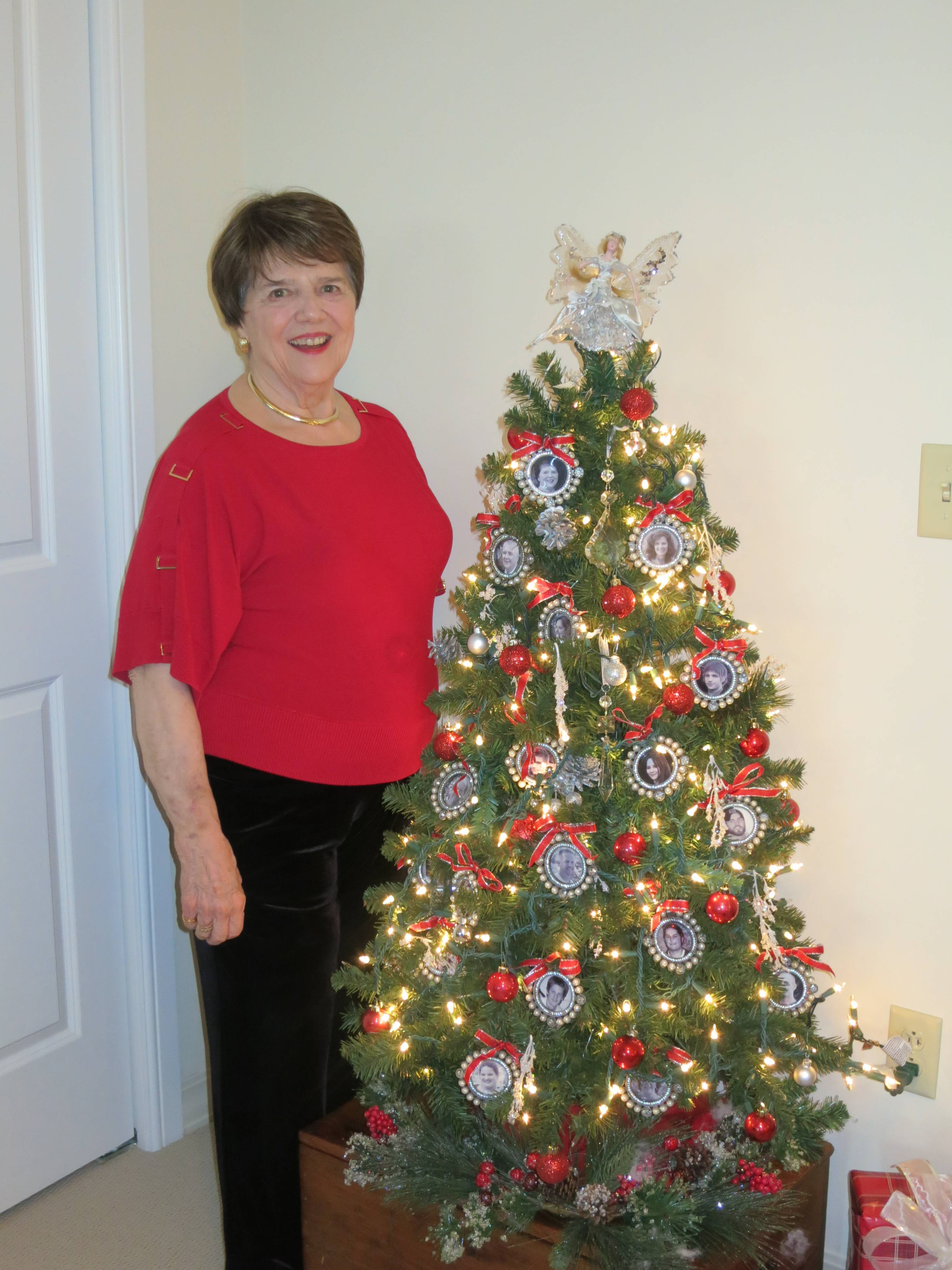Sandy Villwock opened her home to prospective residents at GreenFields of Geneva's Holiday Parade of Homes.
