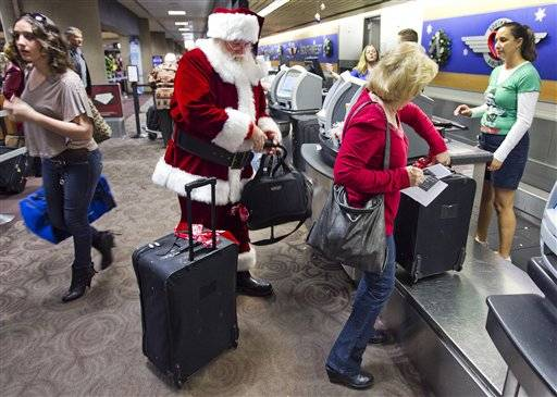 Airports may be less crowded this travel season. AAA is predicting most of us will drive at least 50 miles during the holidays versus flying in a plane.