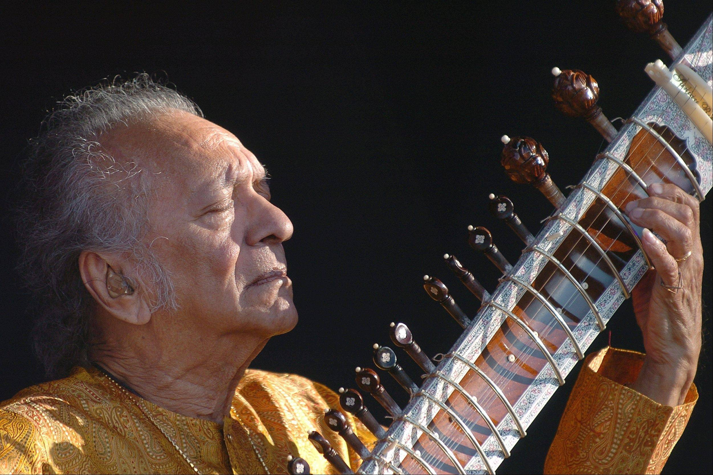 Indian musician Ravi Shankar, the sitar virtuoso who became a hippie musical icon of the 1960s after hobnobbing with the Beatles and who introduced traditional Indian ragas to Western audiences over an eight-decade career, died Tuesday, Dec. 11, 2012. He was 92.