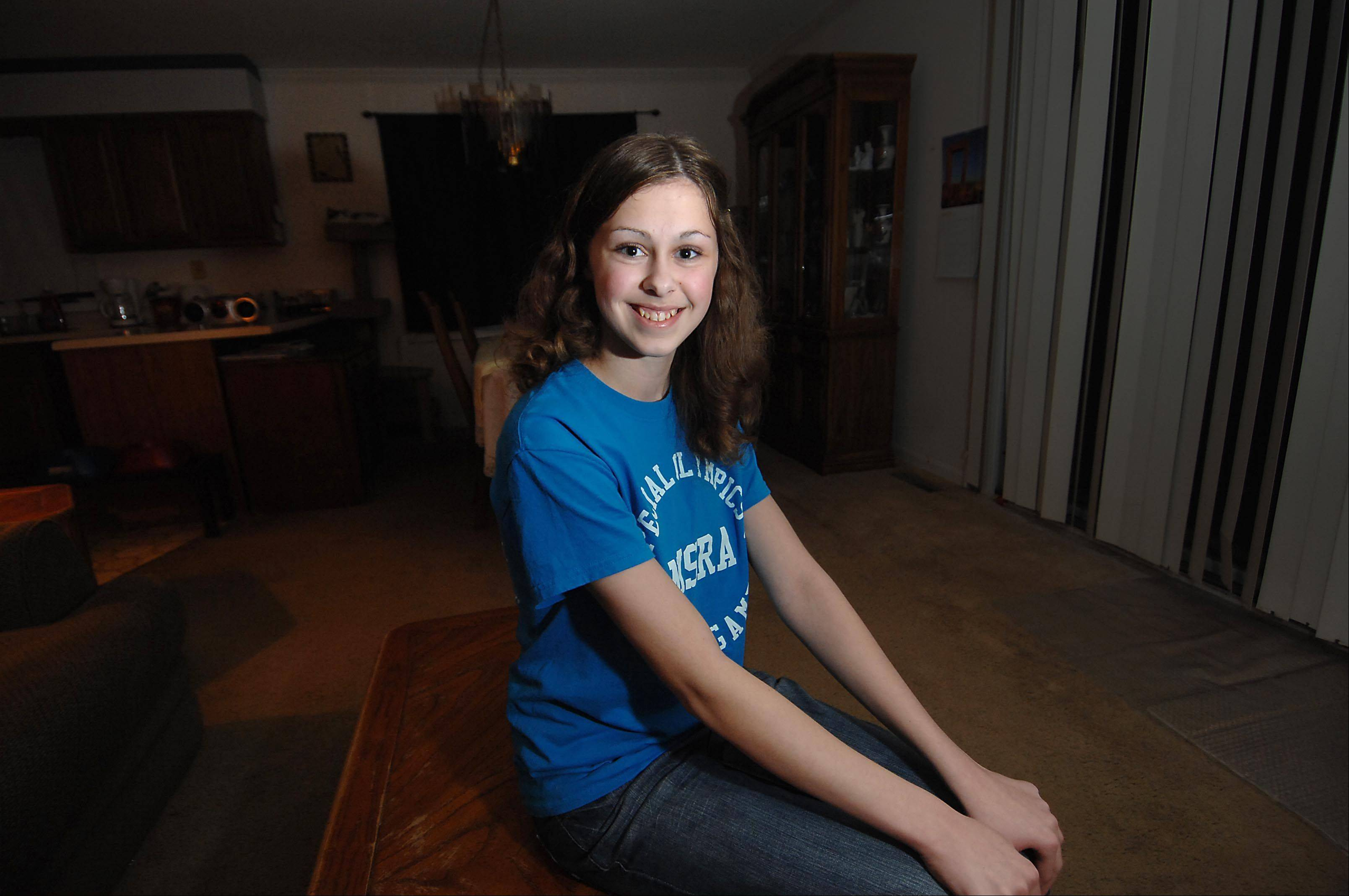 Breanna Bogucki, a freshman at Cary-Grove High School, has autism. She won the Special Talents America contest last month by singing a Taylor Swift song.