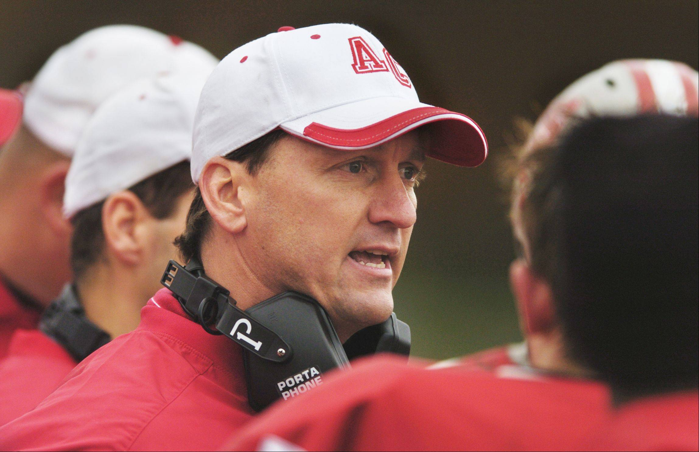"Daily Herald file photoAurora Christain coach Don Beebe will have a book signing Saturday for his new book ""Six Rings from Nowhere."""