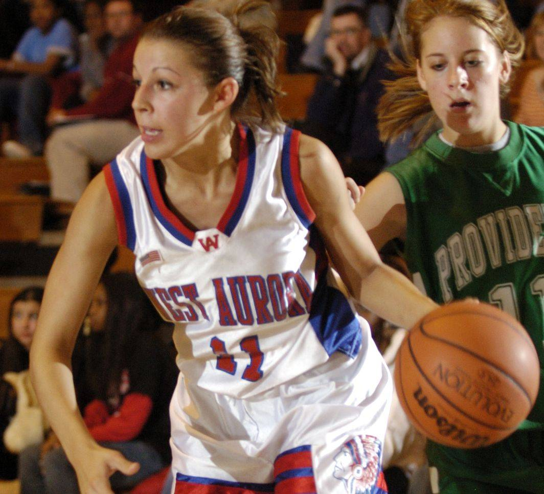 Taylor Richmond, pictured in her playing days at West Aurora in 2005, is in her first year as the head coach at Lincoln.