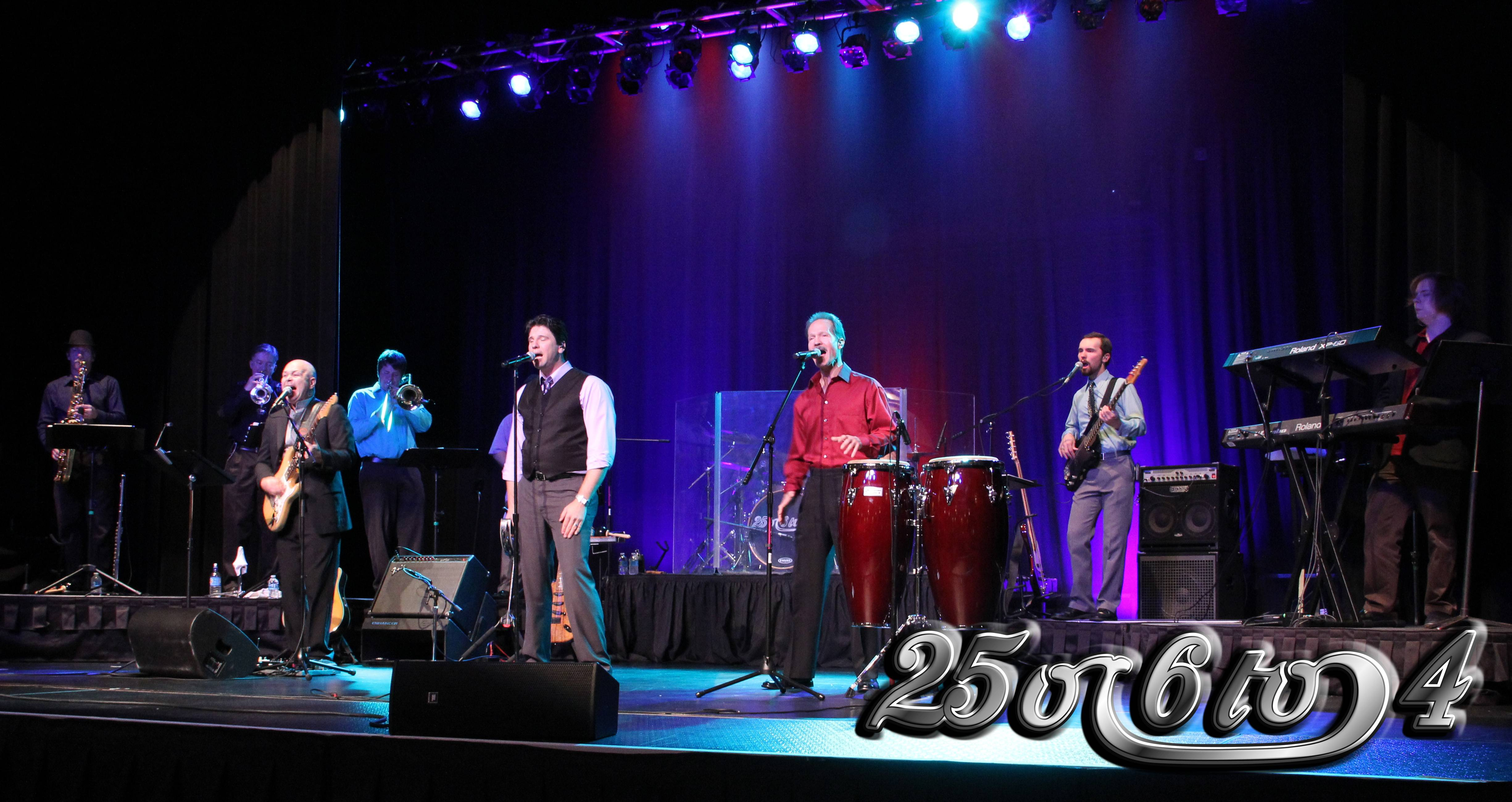 "Chicago tribute band, ""25 or 6 to 4,"" joins Fox Valley Rep's Live Music series this year."
