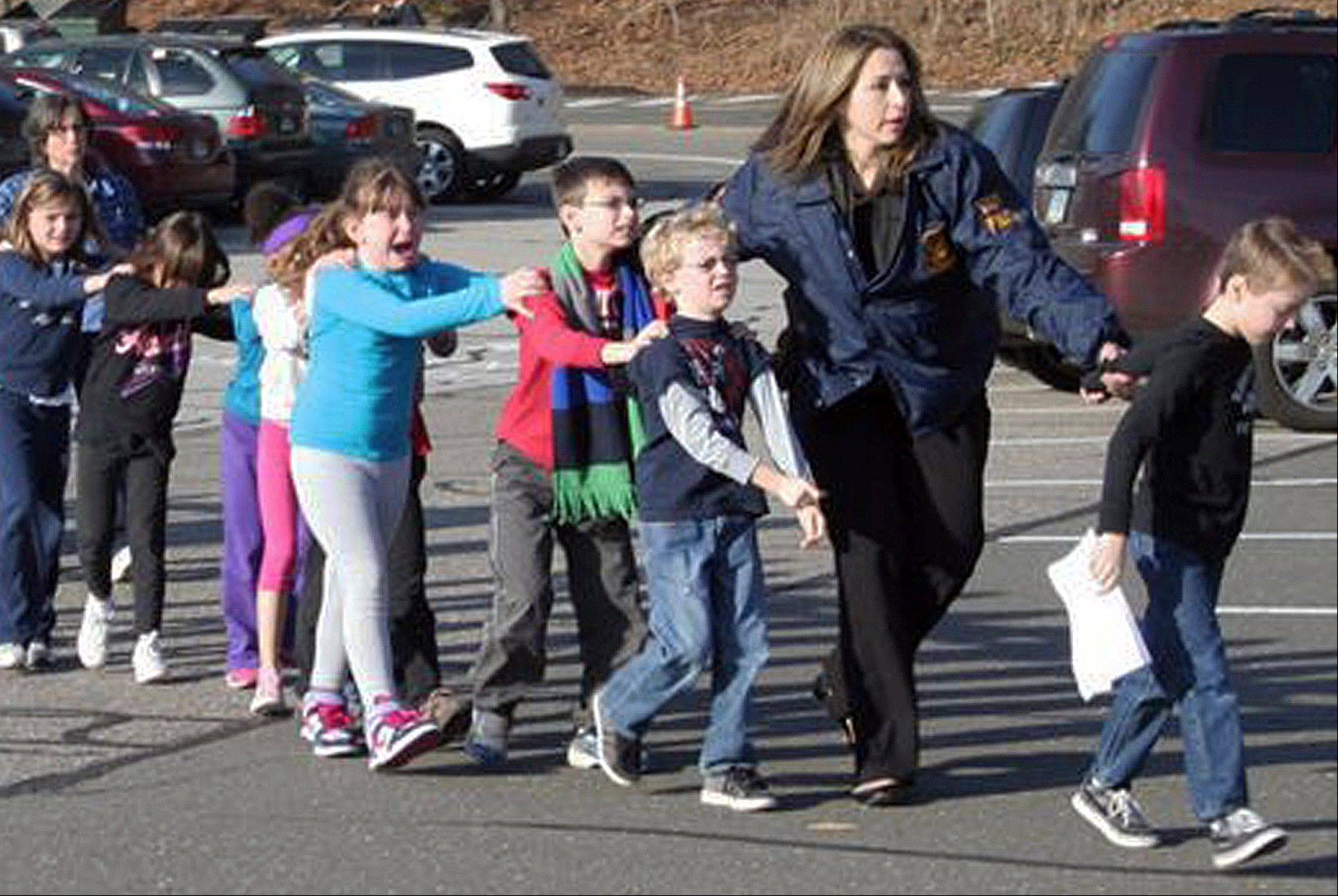 Man kills 26 at Connecticut school, including 20 kids