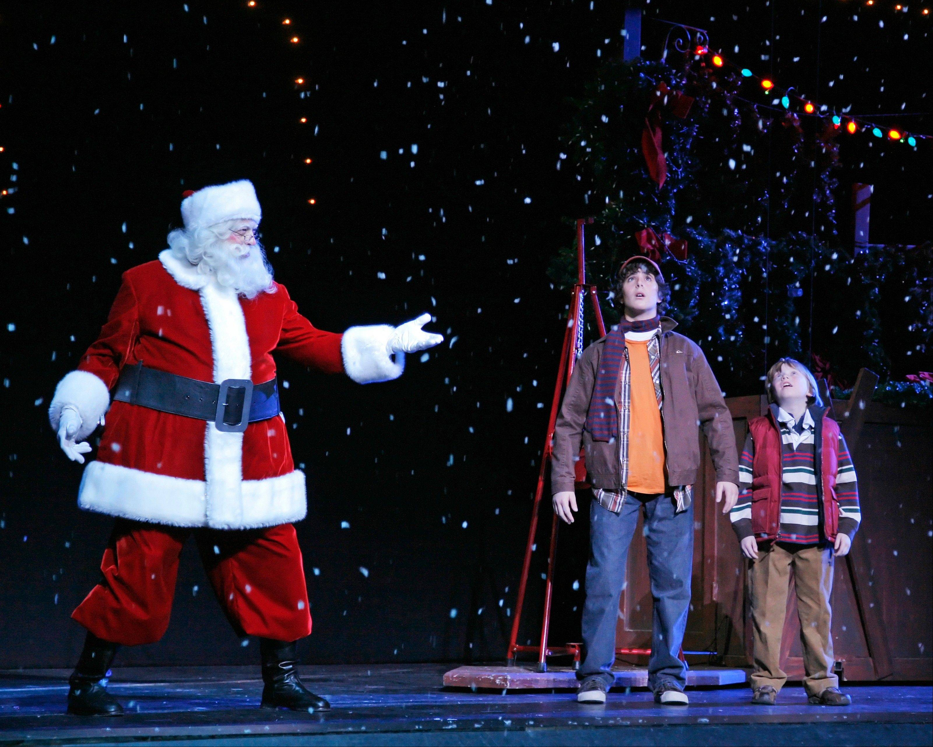 """The Radio City Christmas Spectacular"" also includes a visit from Santa Claus."