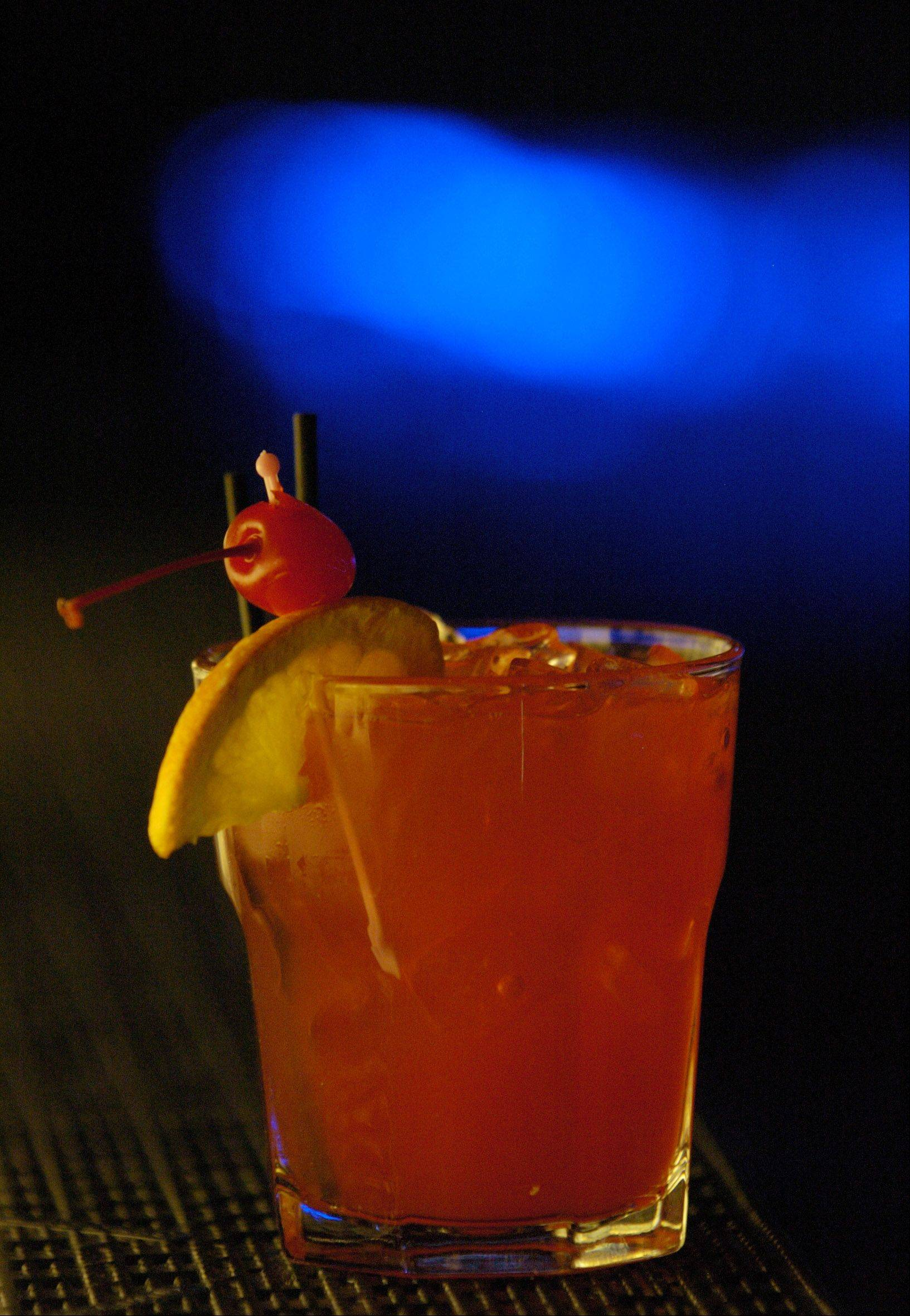 A Southern Hurricane at Toby Keith's I Love This Bar and Grill is crafted from Southern Comfort, pineapple juice, orange juice, sour mix and grenadine.