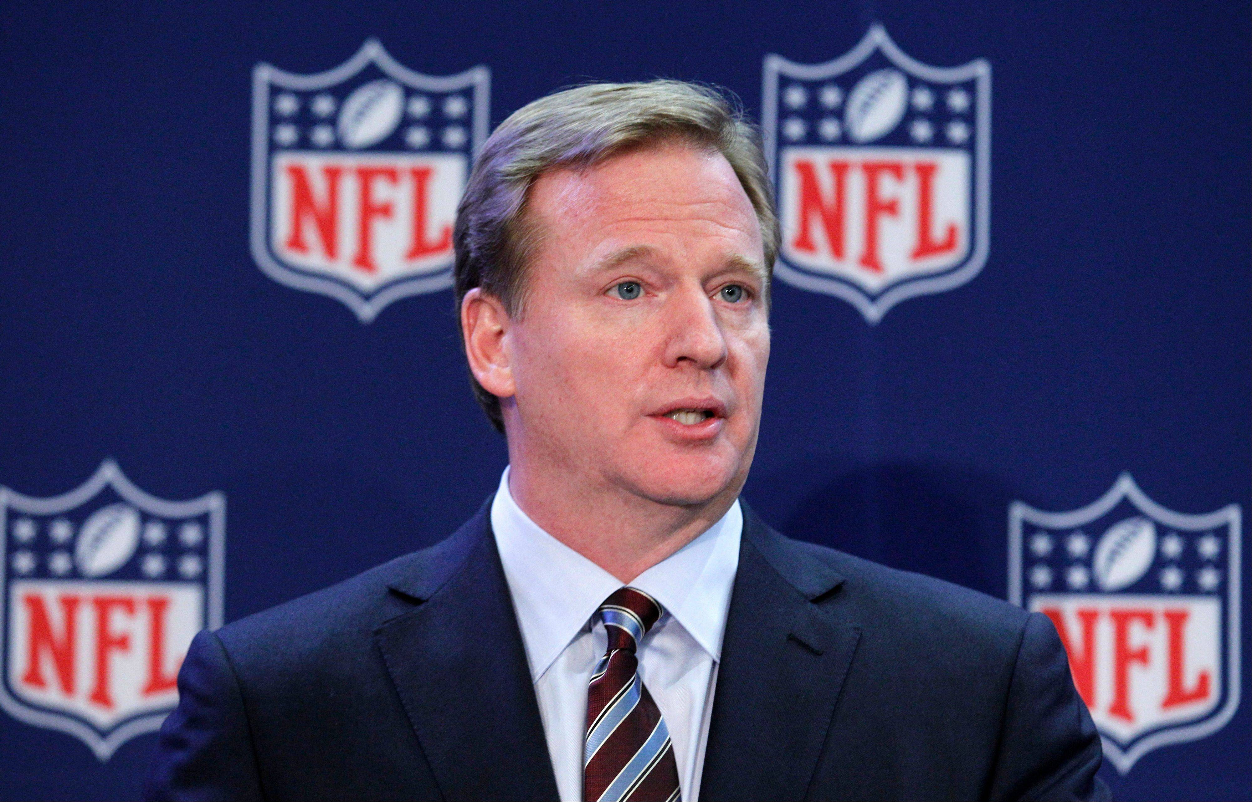 "NFL Commissioner Roger Goodell said this week he ""fundamentally disagrees"" with former league boss Paul Tagliabue's decision not to discipline players in the New Orleans Saints bounty scandal."
