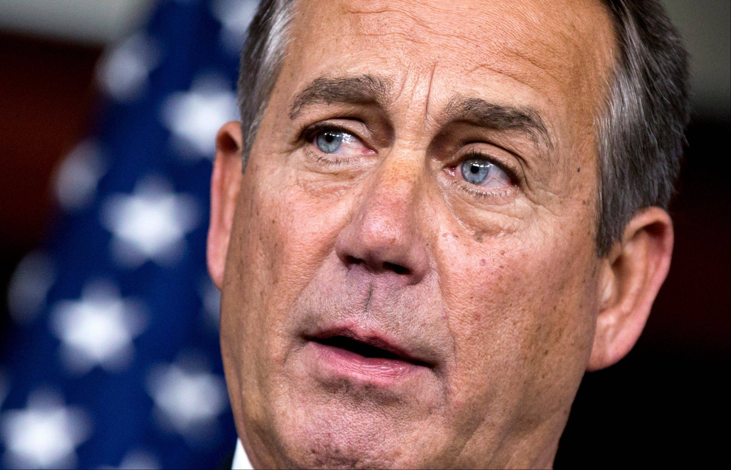 House Speaker John Boehner, an Ohio Republican, has proposed raising the top rate for earners making more than $1 million, a person familiar with the negotiations said.