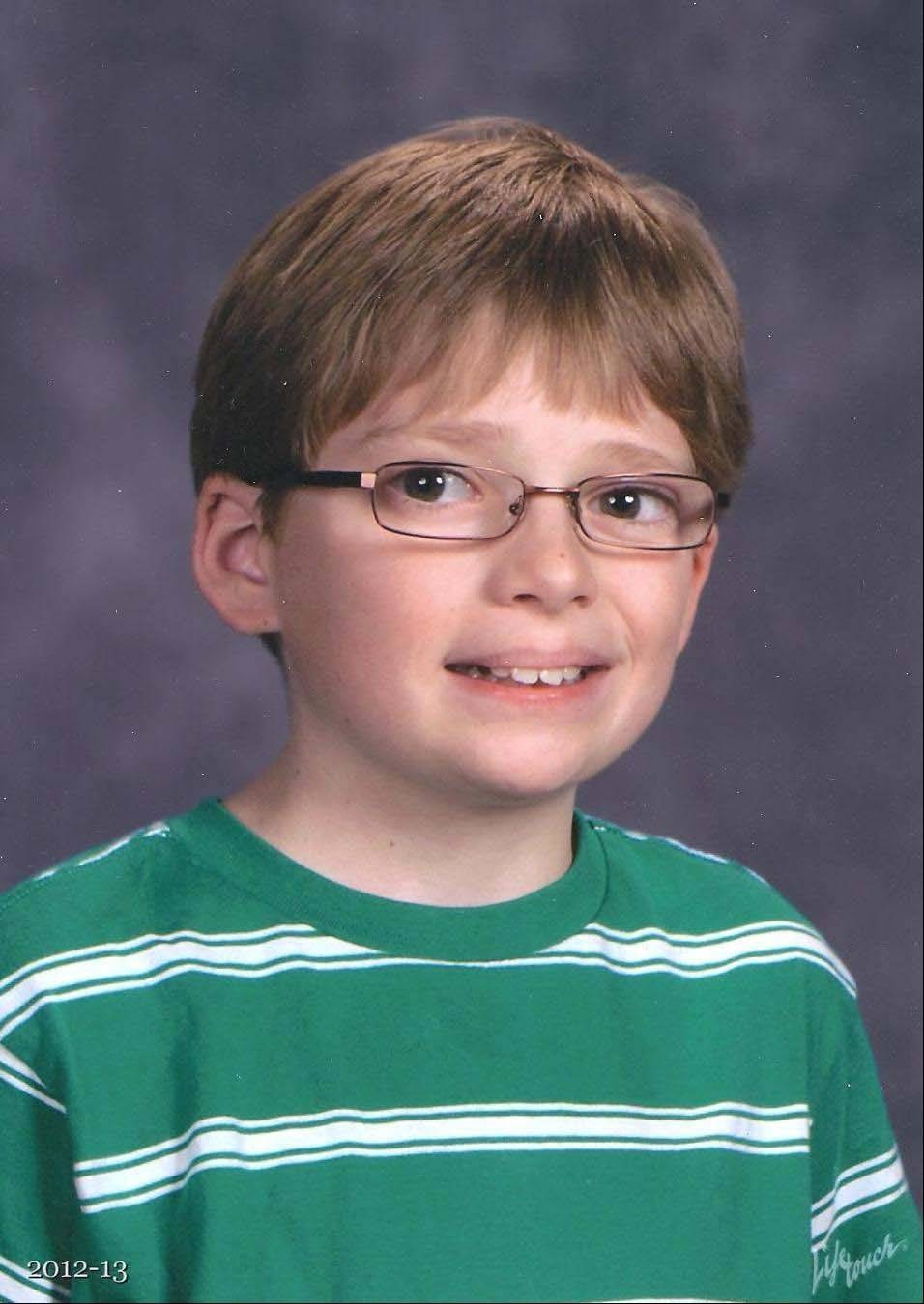Alex Lancaster, 12, of Round Lake died Dec. 12.