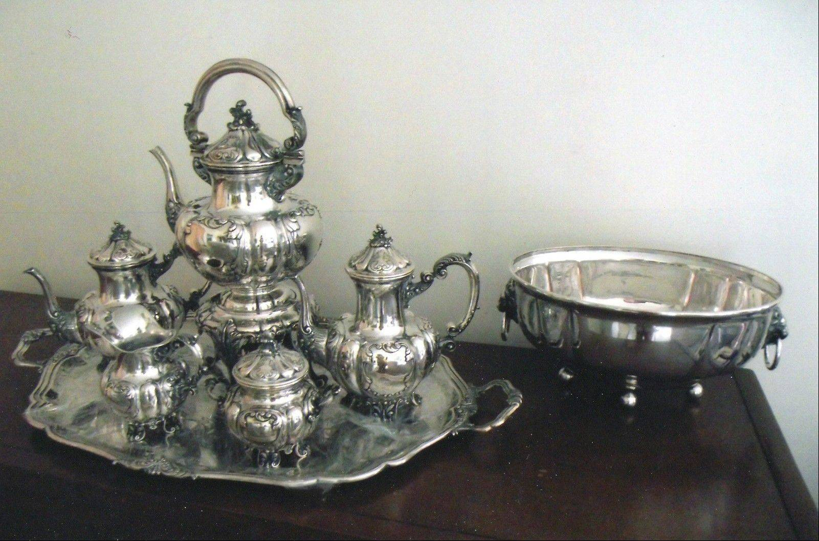 This service is solid silver, not plated, but is it sterling?