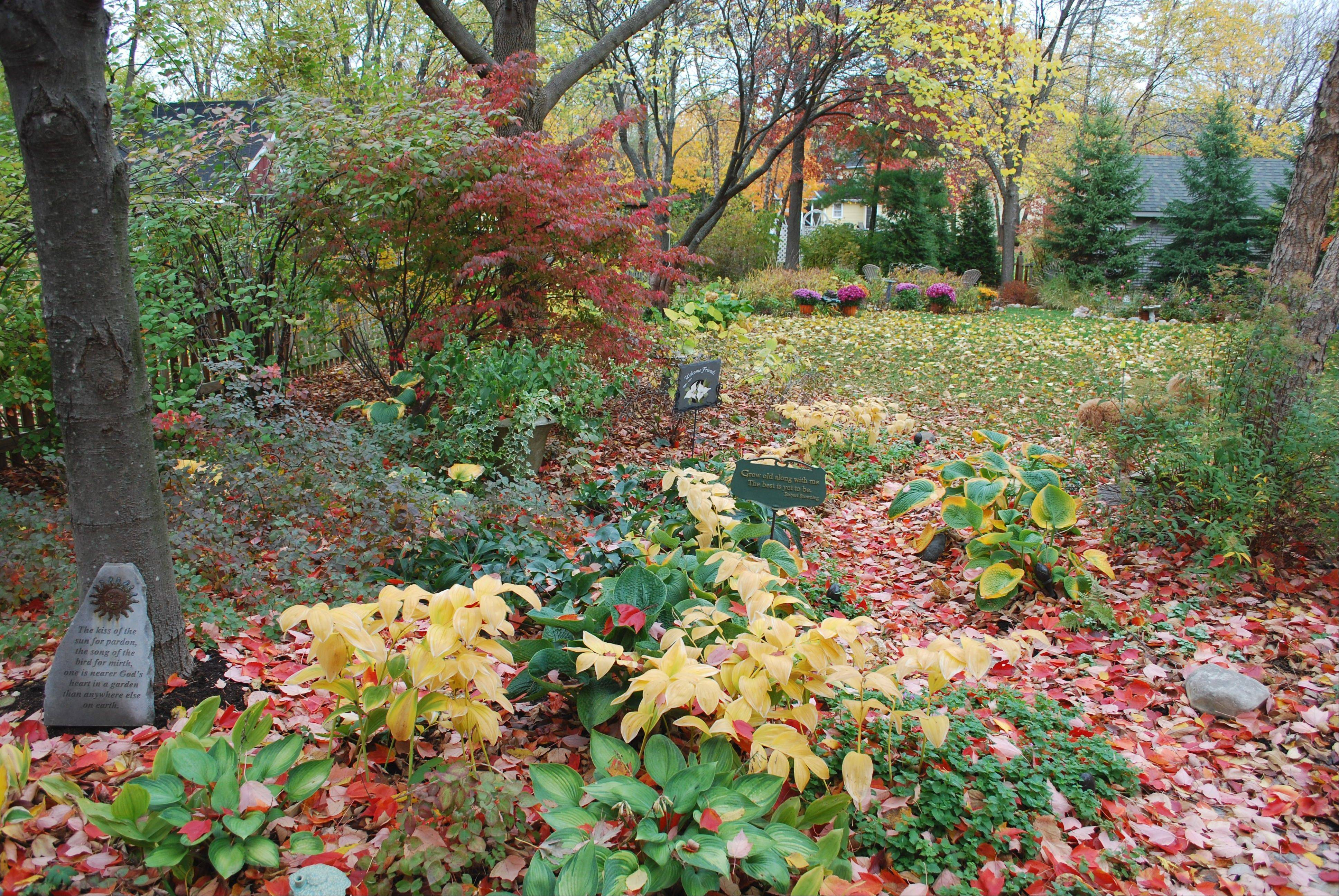 Fall brings a new set of colors to Christensen's landscape.