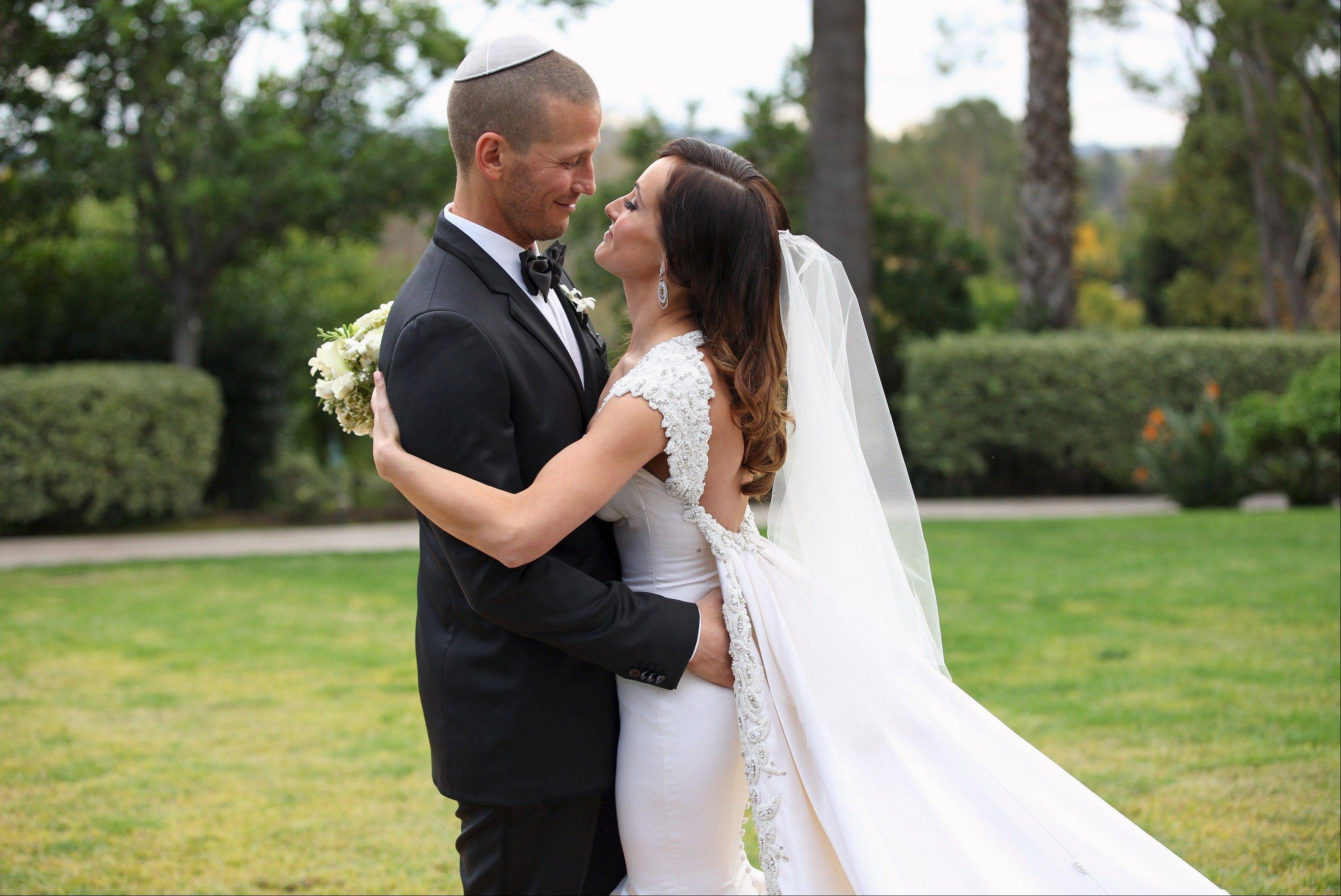 "Ashley Hebert and J.P. Rosenbaum will be wed on ""The Bachelorette: Ashley and J.P.'s Wedding"" airing Sunday on ABC."
