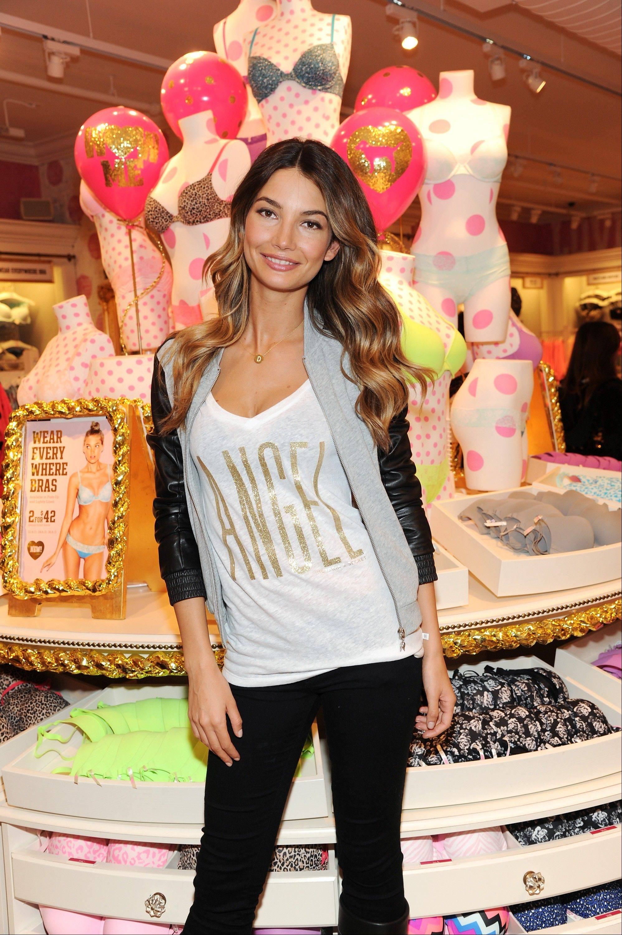Model Lily Aldridge has been a Victoria's Secret model since 2009.