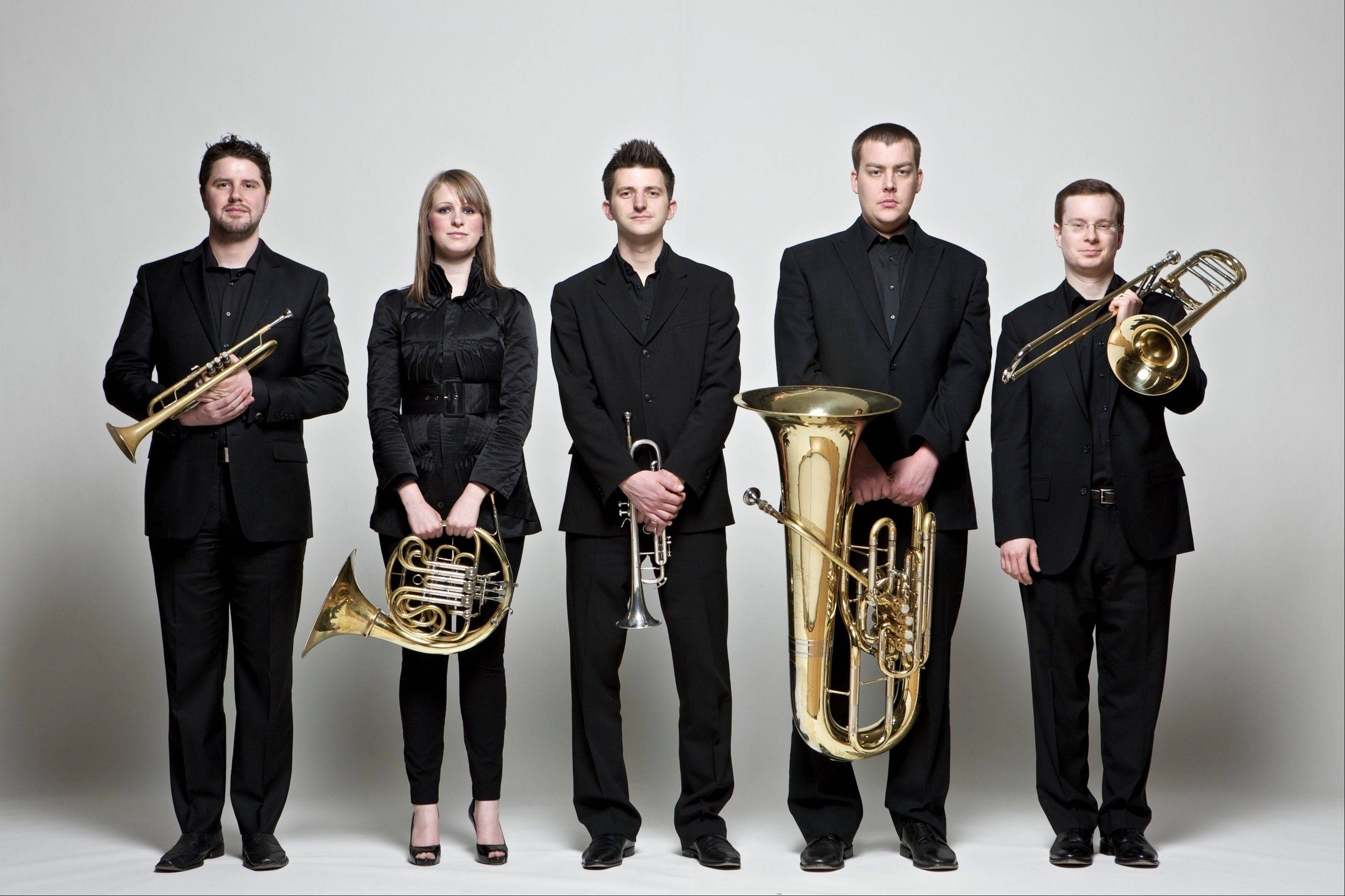 The Gaudete Brass Quintet presents an afternoon concert of brass chamber music on Sunday, Dec. 16, at the Byron Colby Barn at Prairie Crossing in Grayslake.