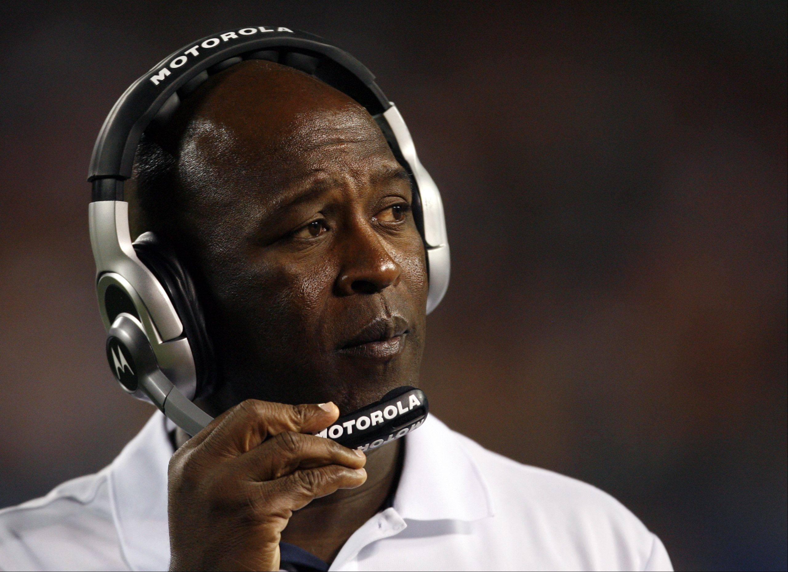Lovie Smith has just 3 playoff victories in eight seasons as Bears head coach.