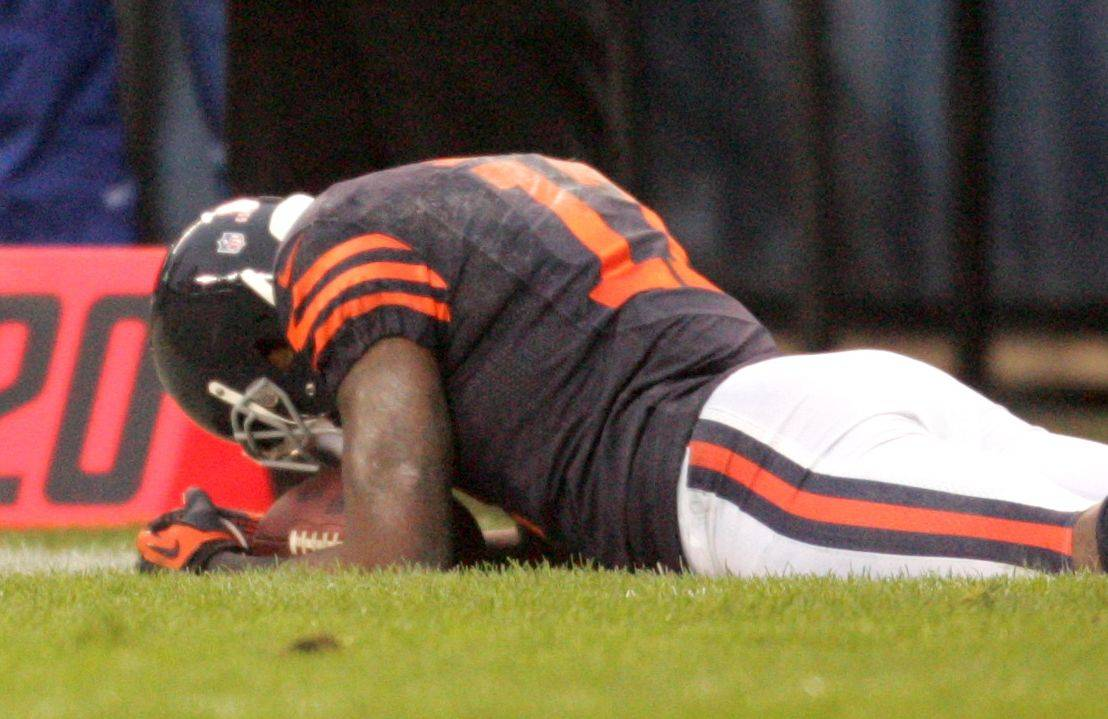 Rough day for Bears rookie Alshon Jeffery