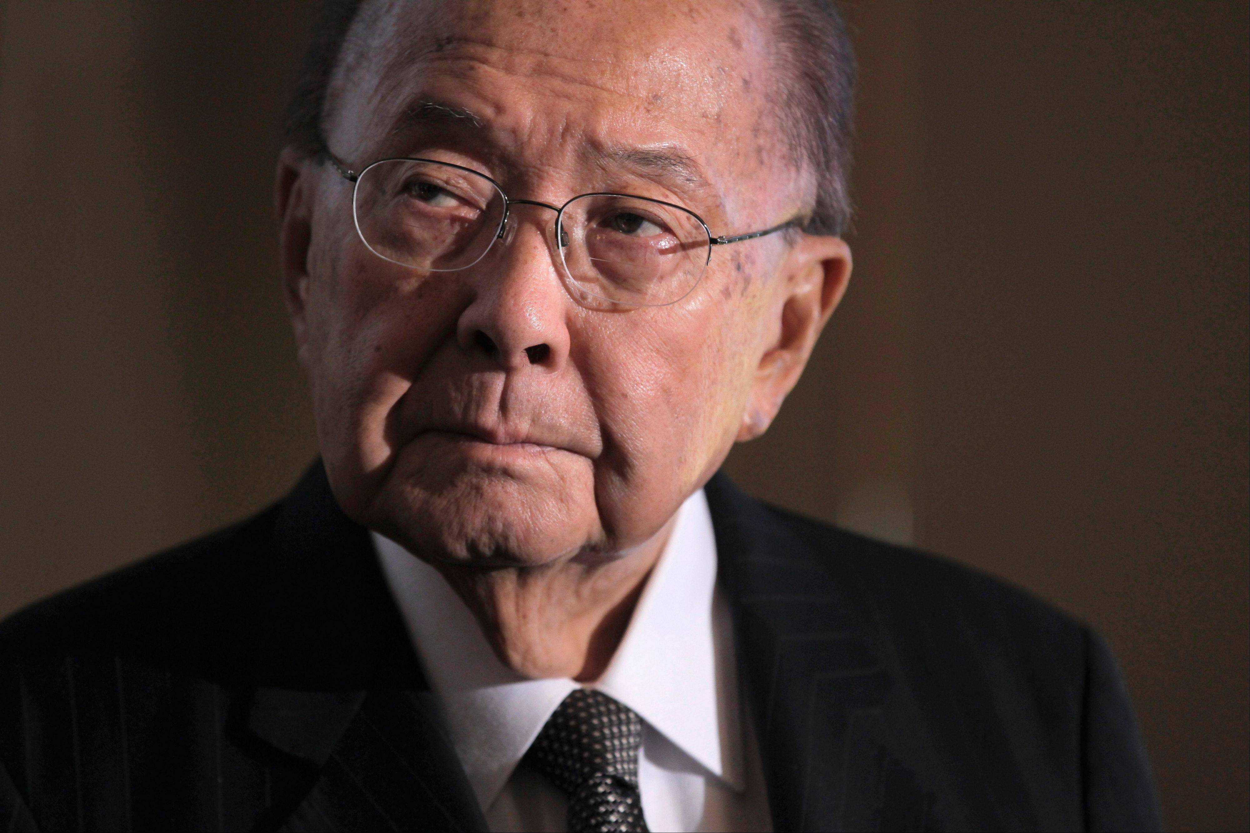 Sen. Daniel Inouye, D-Hawaii, president pro tempore of the Senate, and a recipient of the Medal of Honor, died of respiratory complications Monday. He was 88.