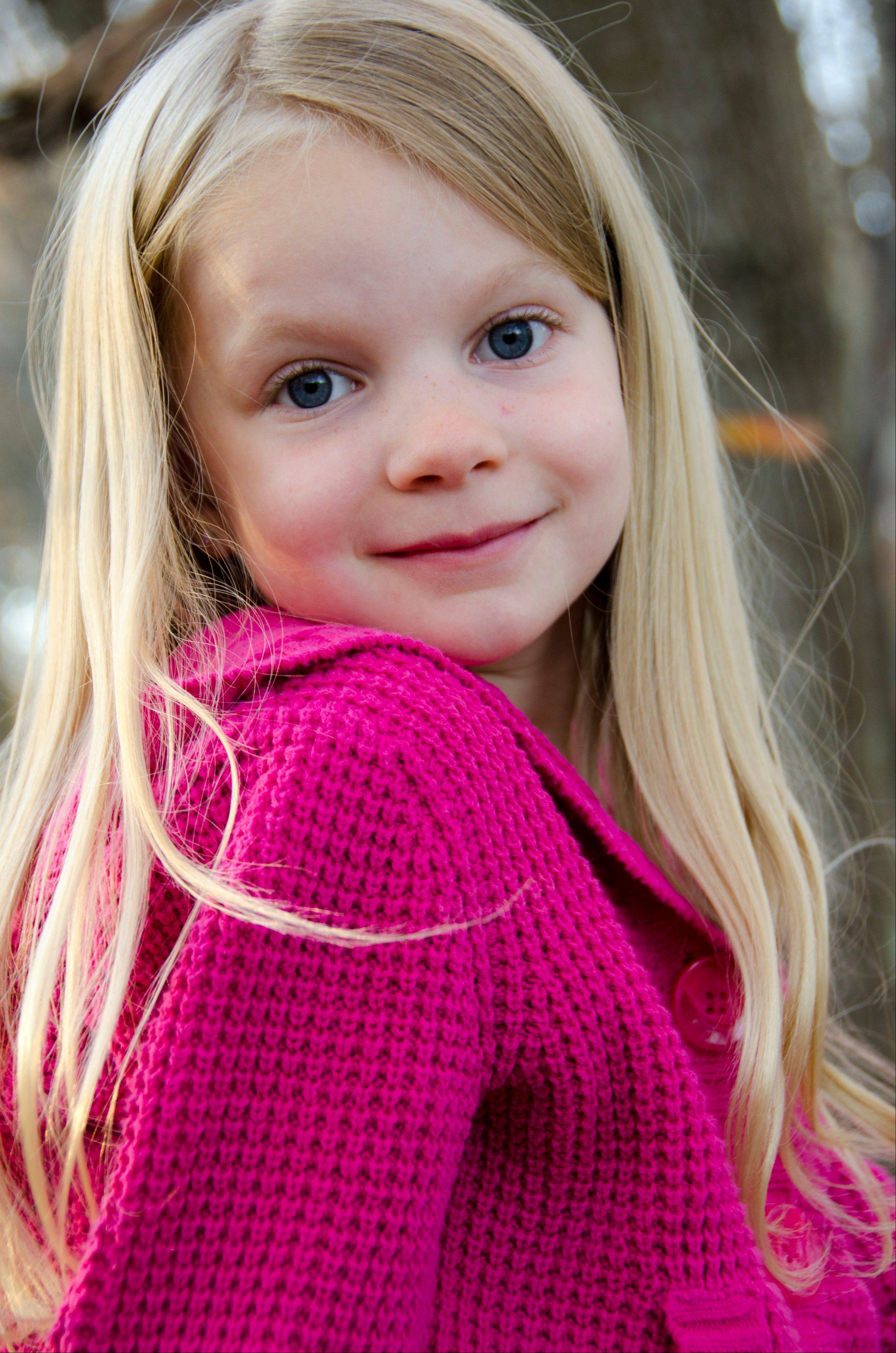 This 2012 photo provided by the family shows Emilie Alice Parker. Parker was killed Friday, Dec. 14, 2012, when a gunman opened fire at Sandy Hook elementary school in Newtown, Conn., killing 26 children and adults at the school.