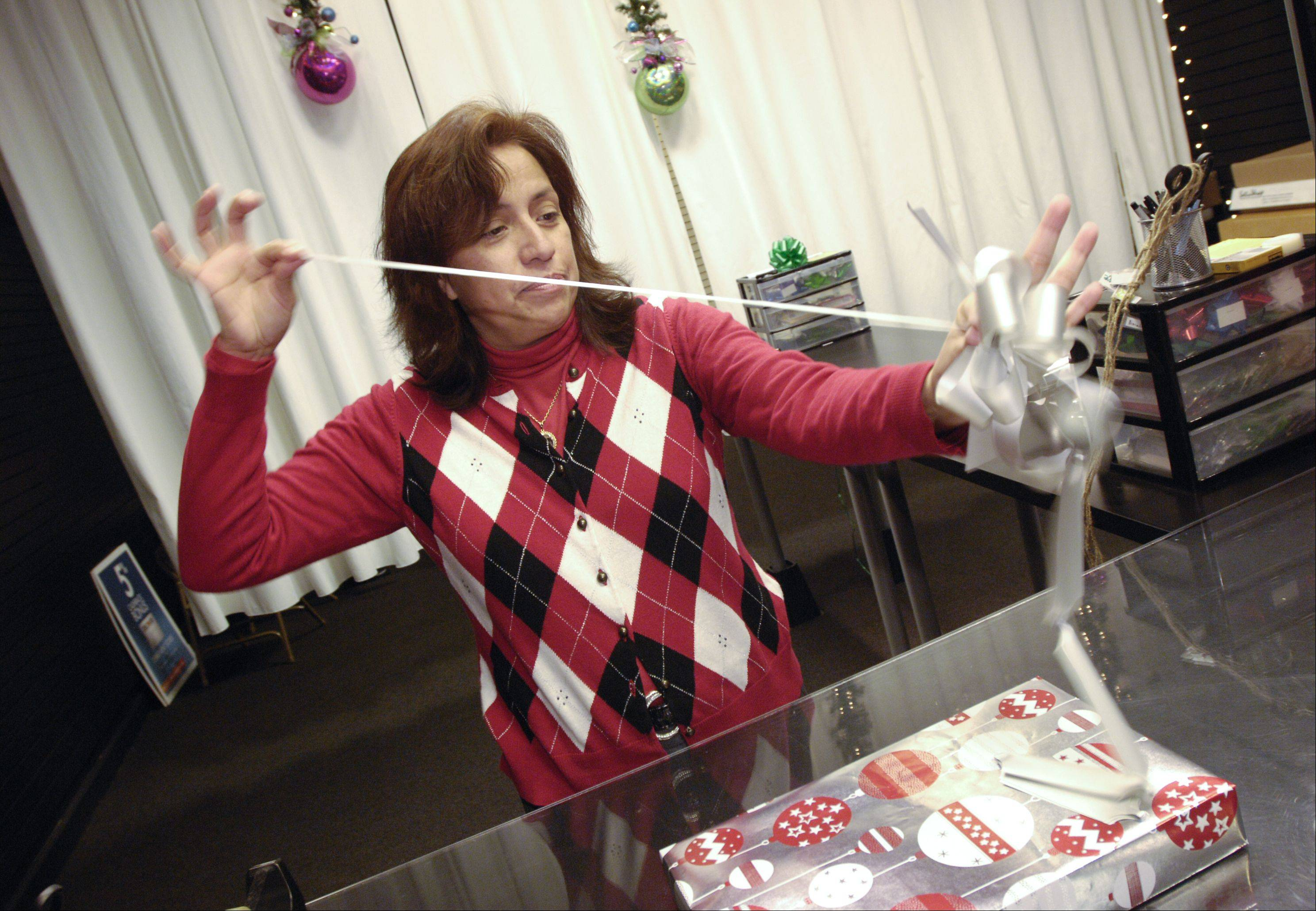 Step 8: Attach a bow, ribbon or other accessories.