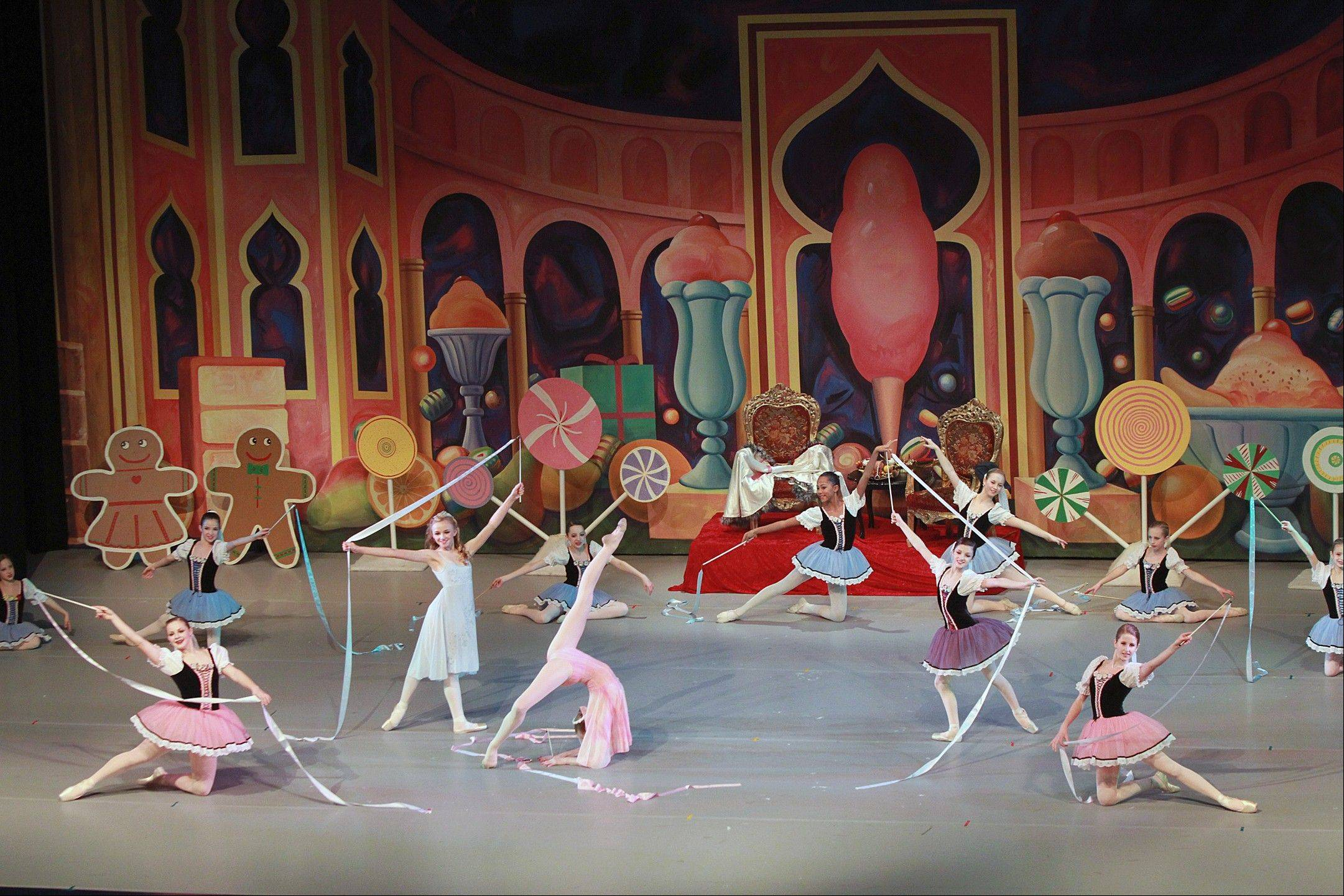 "Dancers perform during Illinois Youth Dance Theatre's 2011 production of ""The Nutcracker."" This year's production will take place Dec. 21-23 at Lake Zurich High School's Performing Arts Center."