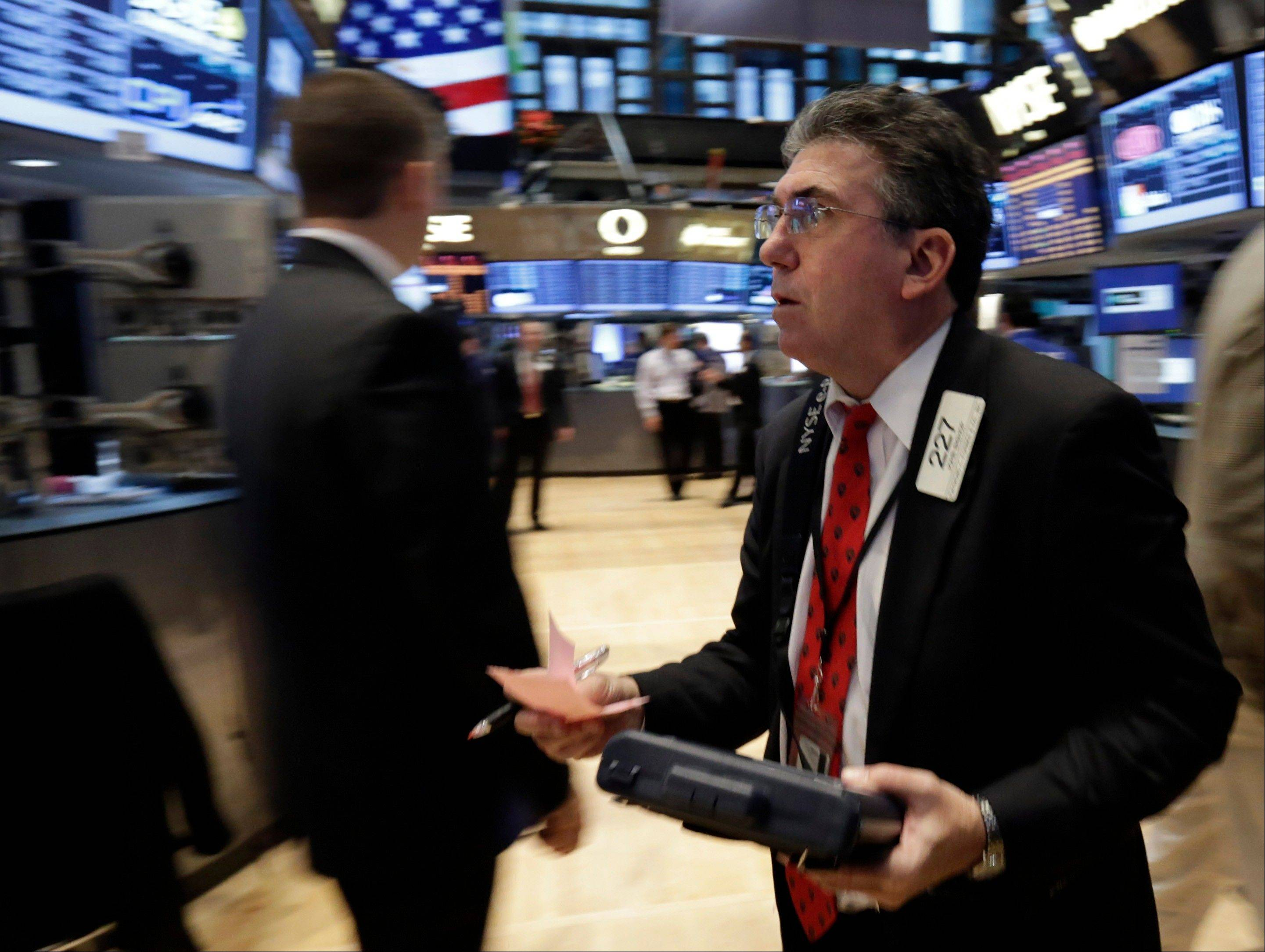 Stocks advanced, sending the Standard & Poor's 500 Index to the highest level in two months, amid signs of progress in efforts by President Barack Obama and Republicans to reach agreement on a new budget in Washington.