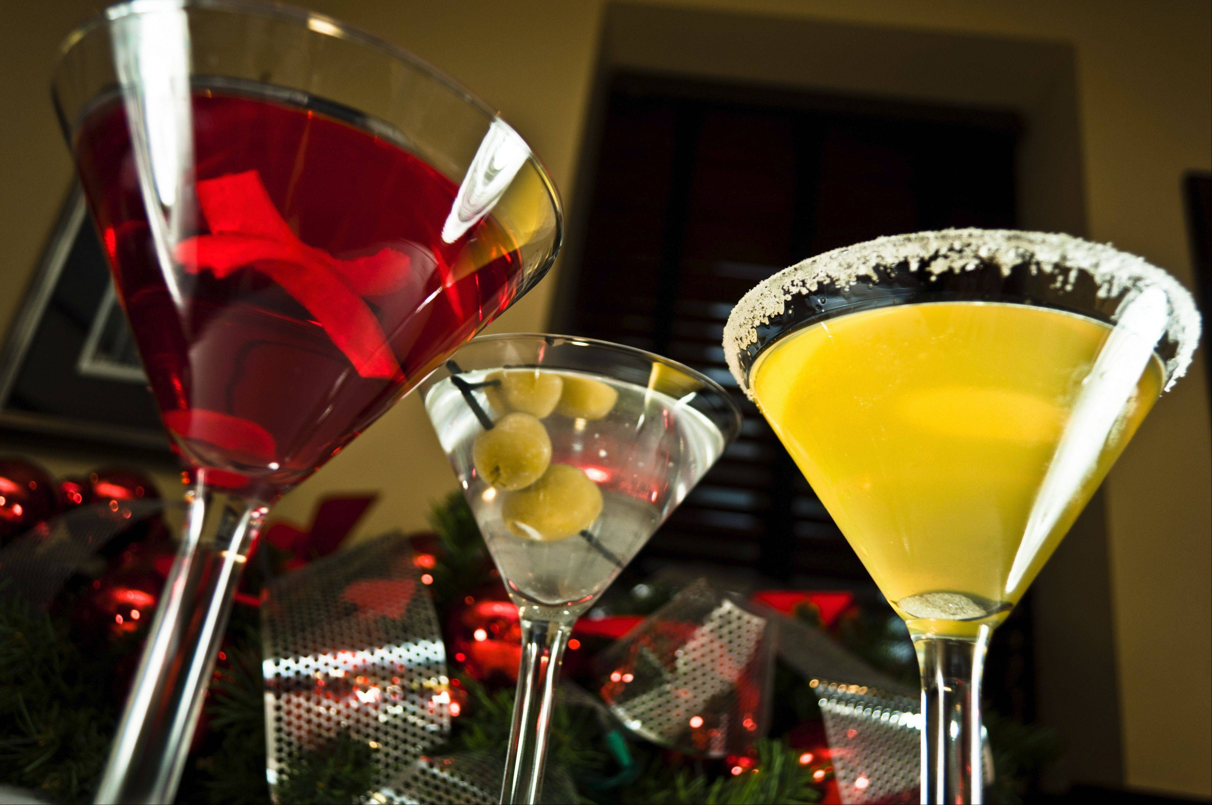 Stop in Tuscany or Stefani Restaurants' Chicago locations for aMerry Martini.