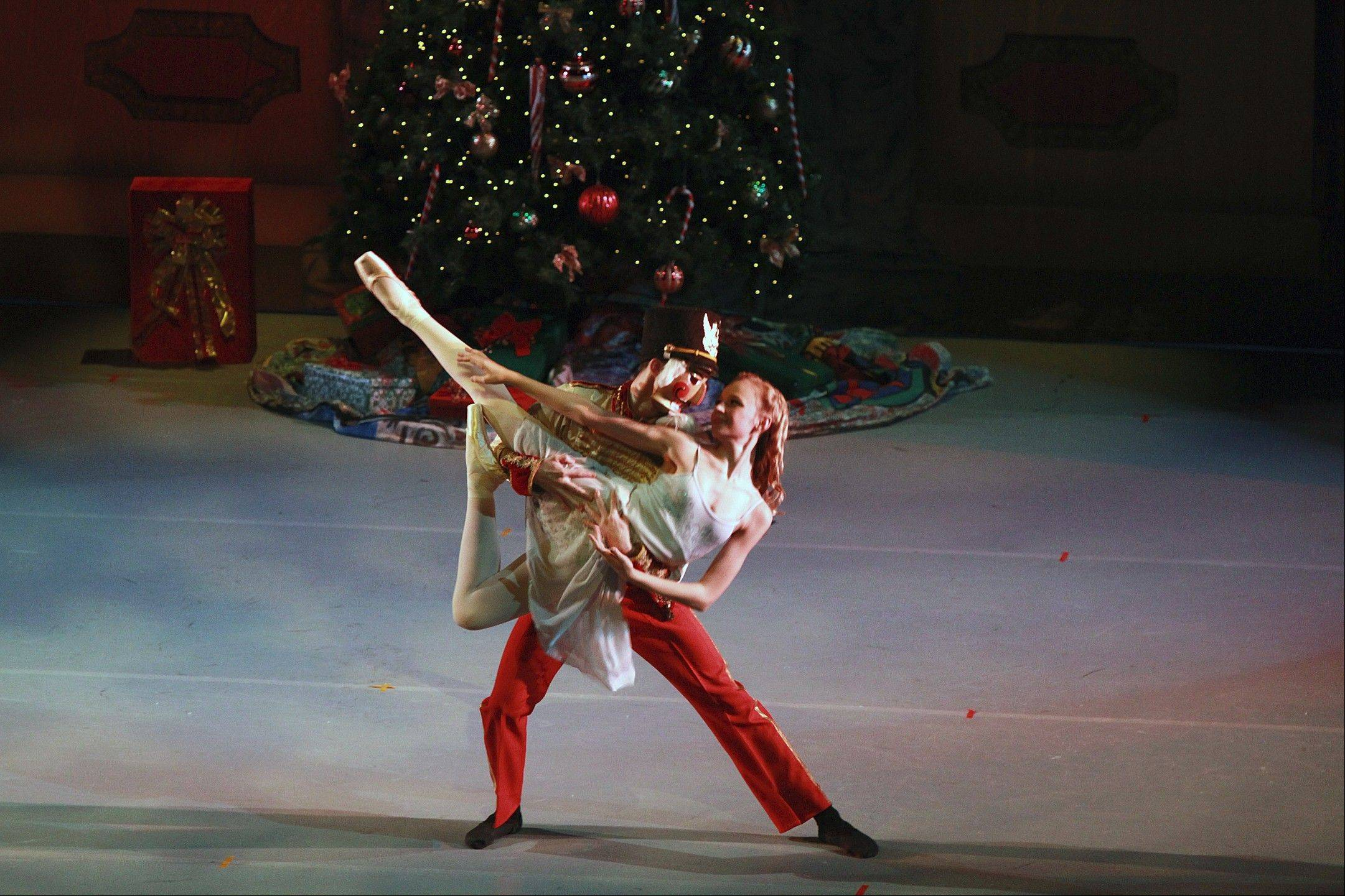 "Illinois Youth Dance Theatre presents its 13th annual production of ""The Nutcracker"" at the Lake Zurich Performing Arts Center."