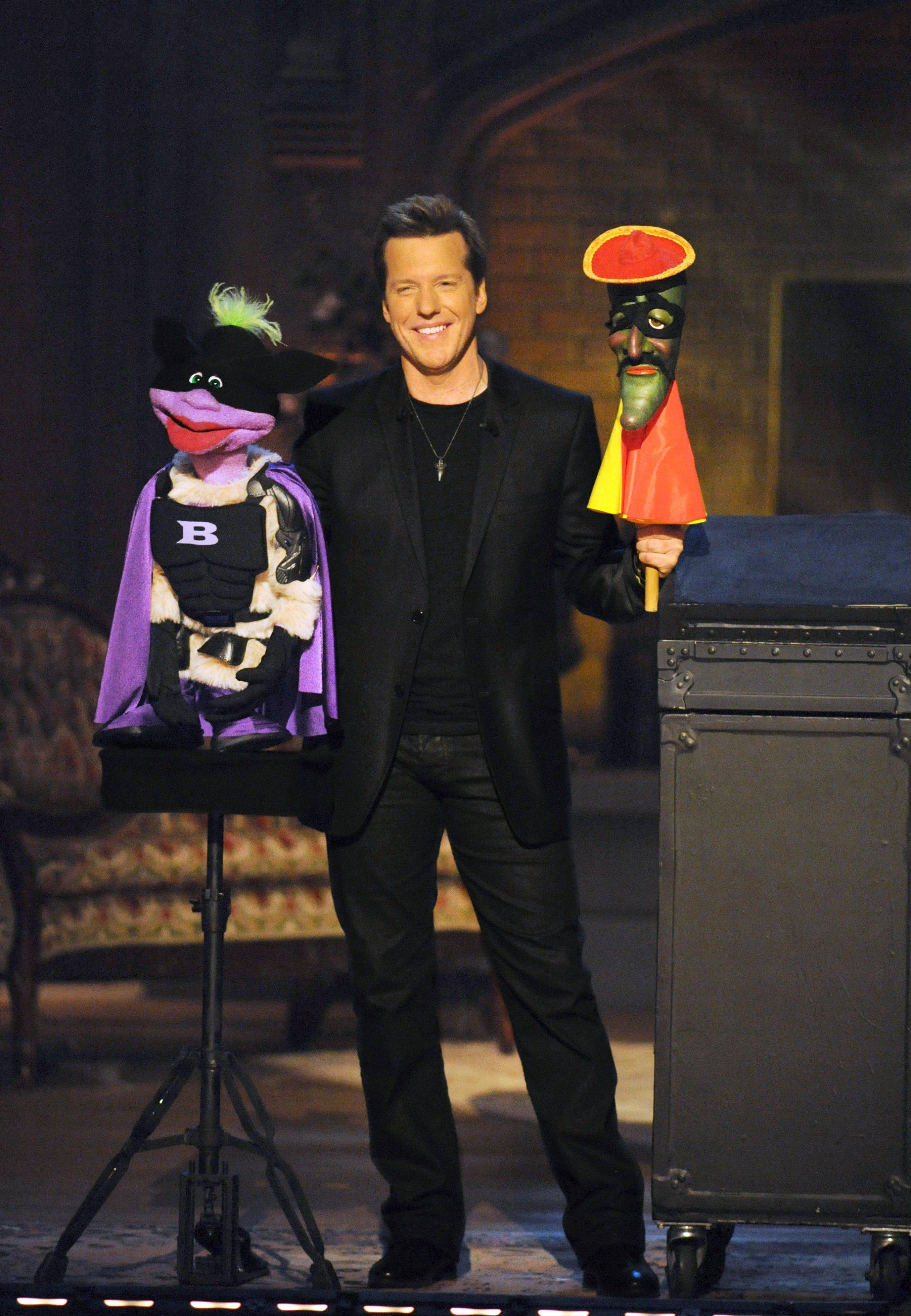 Jeff Dunham and his comic puppets perform at the Allstate Arena in Rosemont.