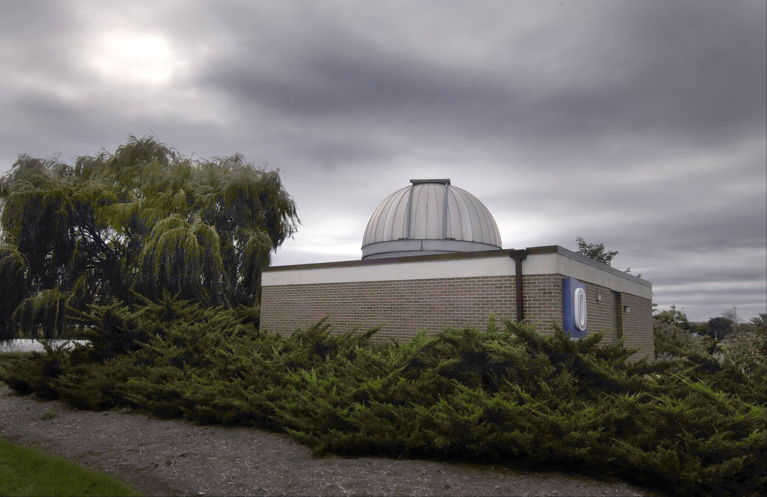 Visit the observatory at Harper College in Palatine to get a look at the sun, through a telescope, on Saturday, Dec. 22.