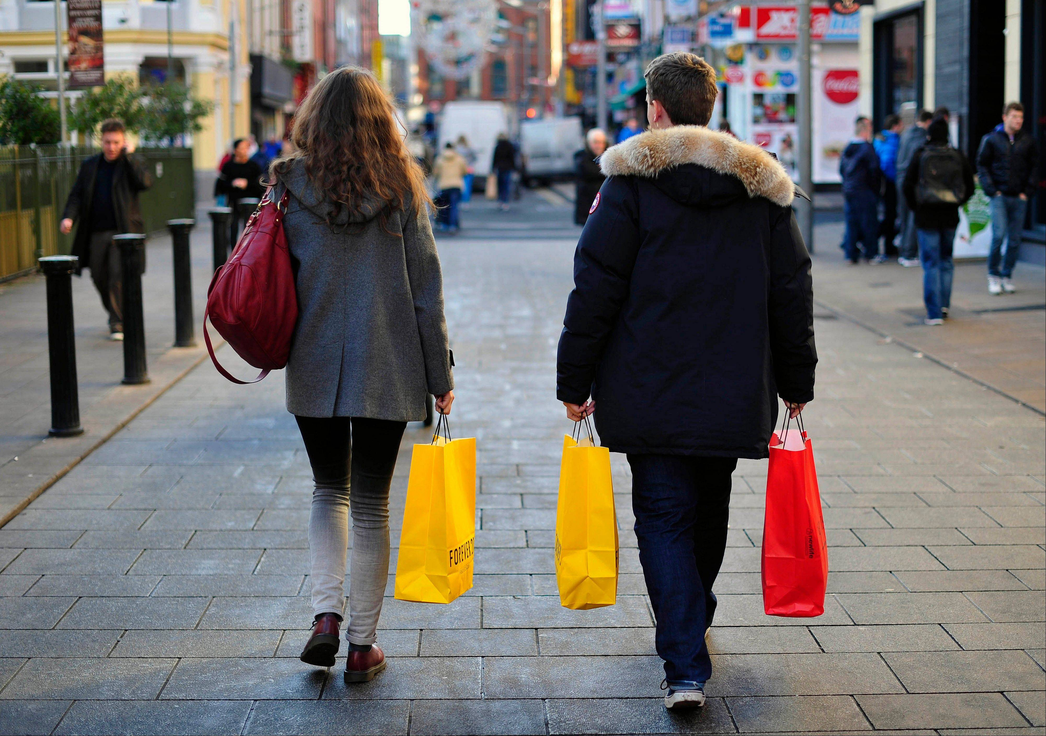 U.K. retail-sales growth eased more than economists forecast in December and may cool further in early 2013, according to a monthly report from the Confederation of British Industry.