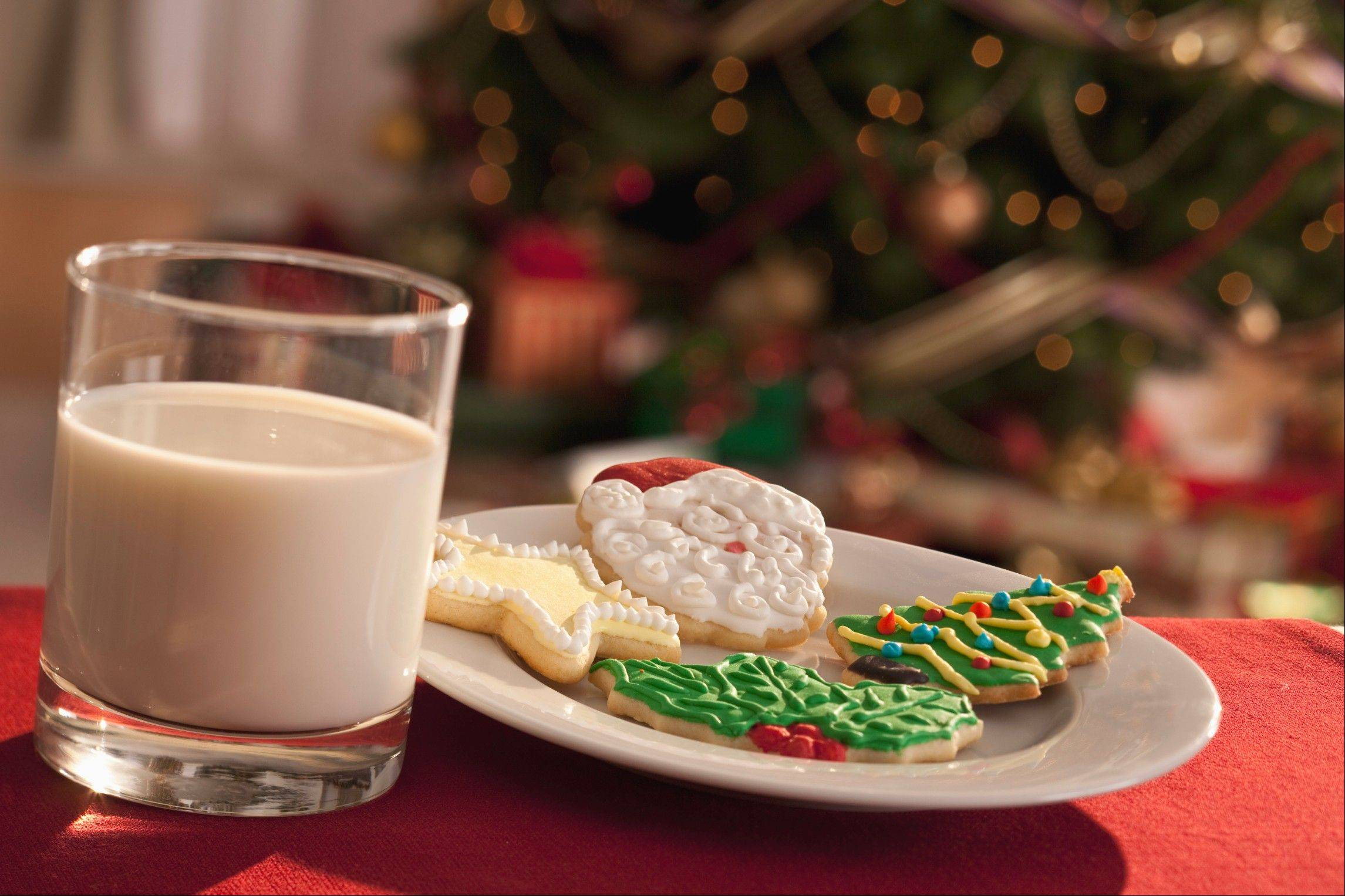 From the food editor: Milk and tea for Santa and his helpers