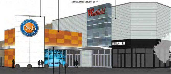 The Dave & Buster's chain of amusement centers plans to open its fourth Chicago area location at Westfield Hawthorn mall in Vernon Hills.