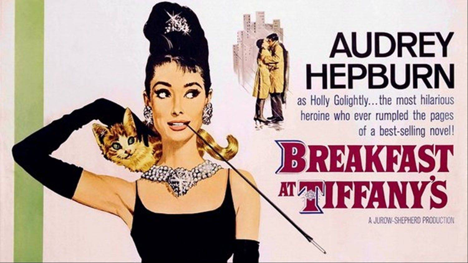 """Breakfast at Tiffany's starring Audrey Hepburn will be inducted into the National Film Registry."
