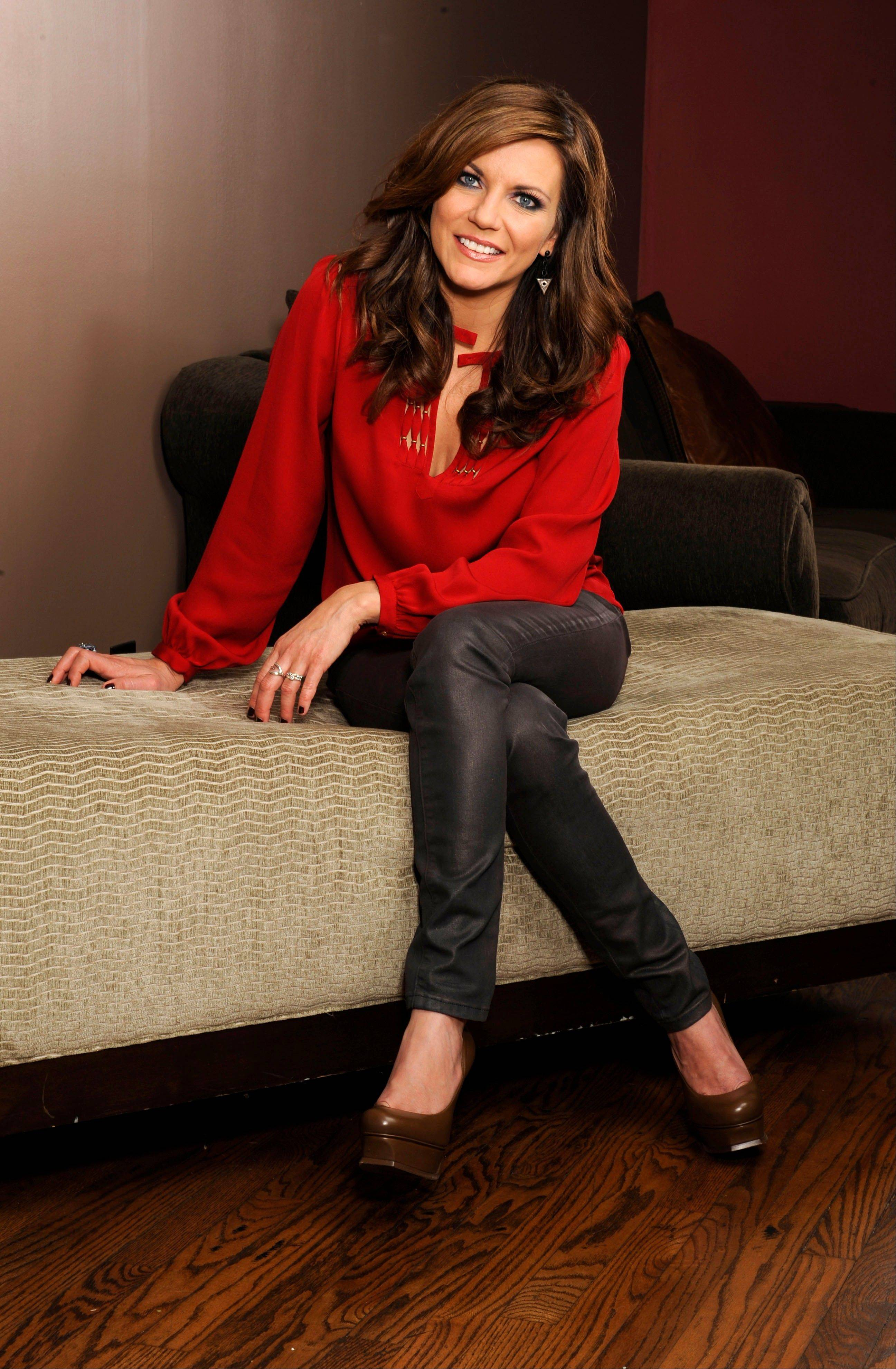 "Country music superstar Martina McBride celebrates the holidays with ""The Joy of Christmas"" concert at The Chicago Theatre."