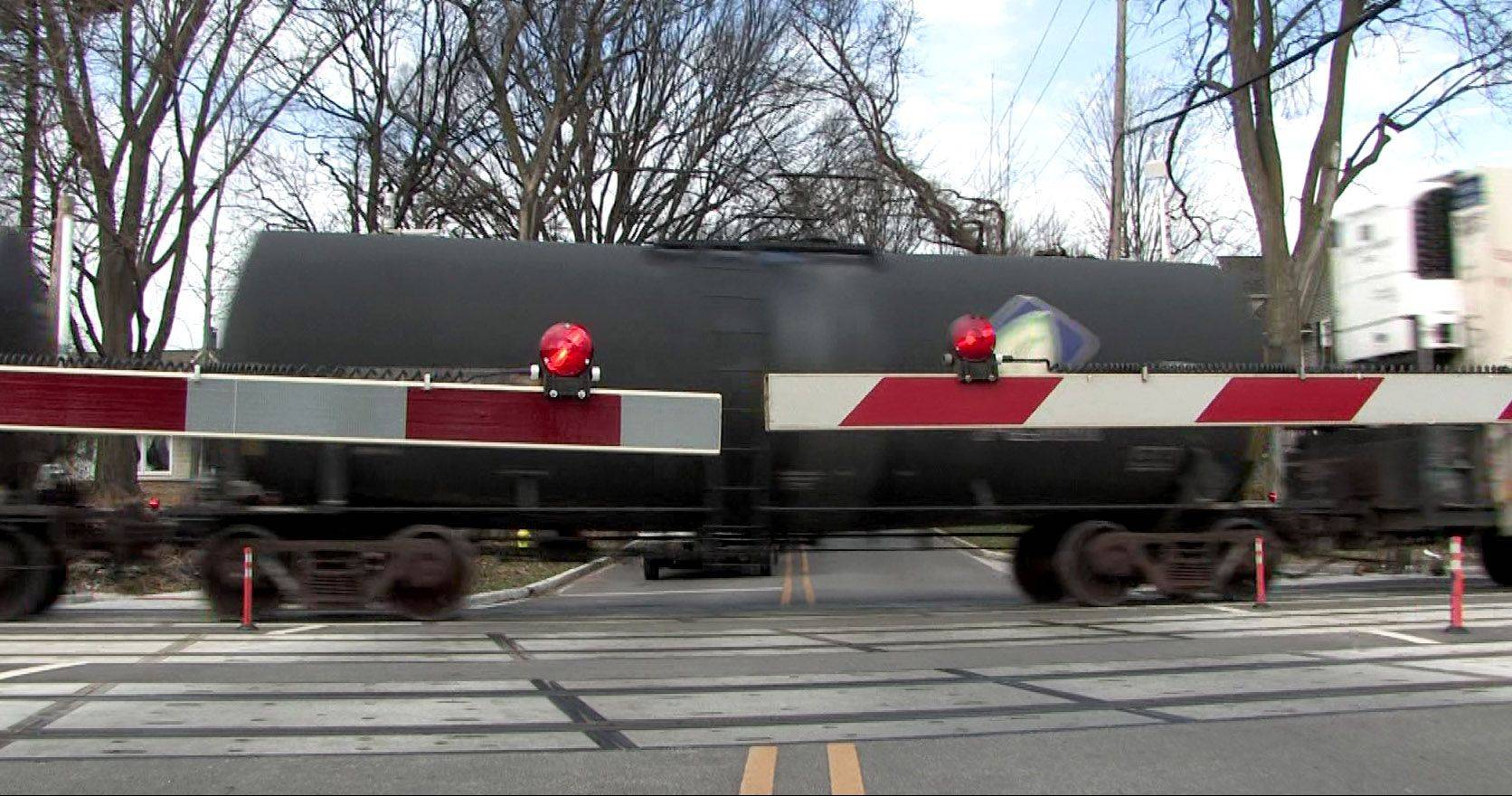 Making railroad crossings safer is father's crusade