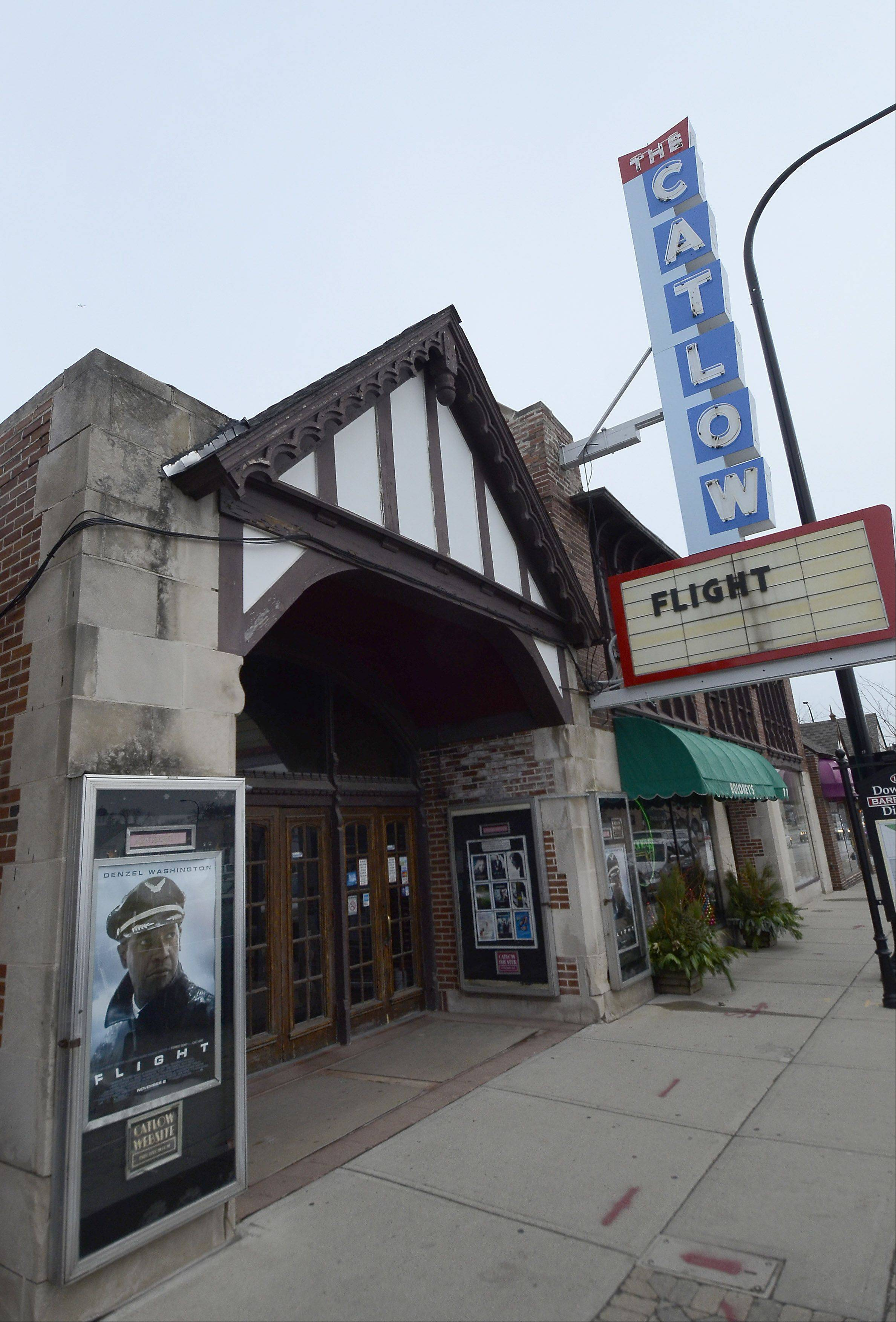 "The Catlow Theater in Barrington will reopen to the public with an 8 p.m. Friday showing of the James Bond film ""Skyfall."""