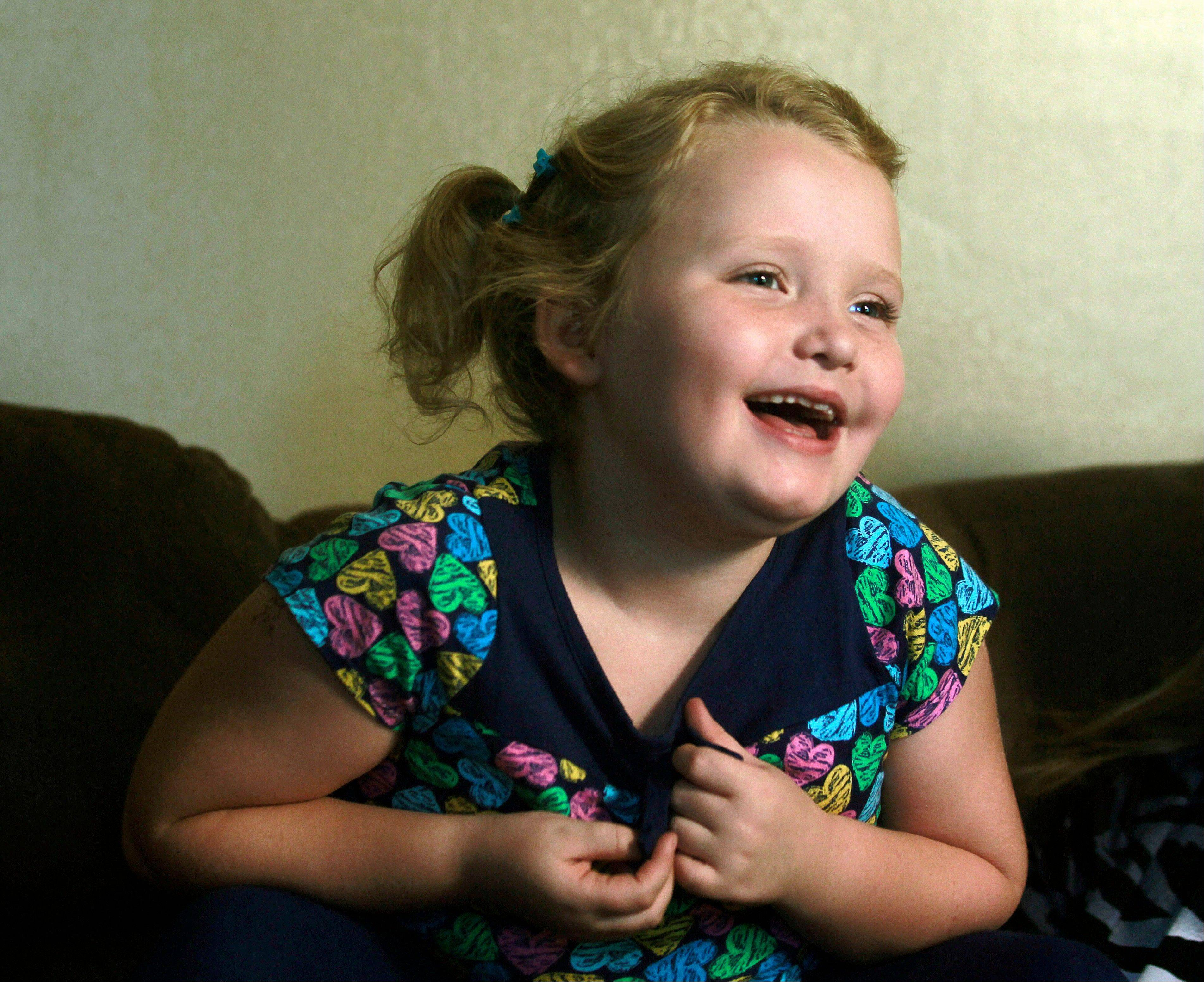 "Seven-year-old Alana ""Honey Boo Boo"" Thompson is a beauty pageant regular and a reality show star."