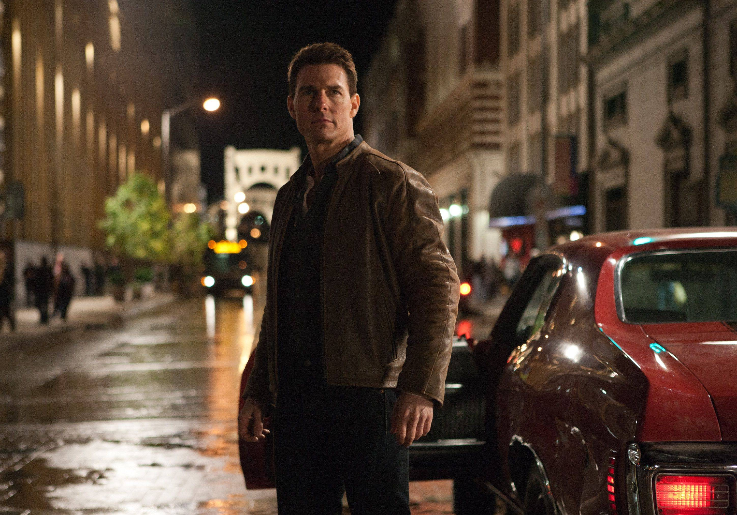 "In ""Jack Reacher,"" Tom Cruise plays a former military cop investigating a Pittsburgh sniper case."