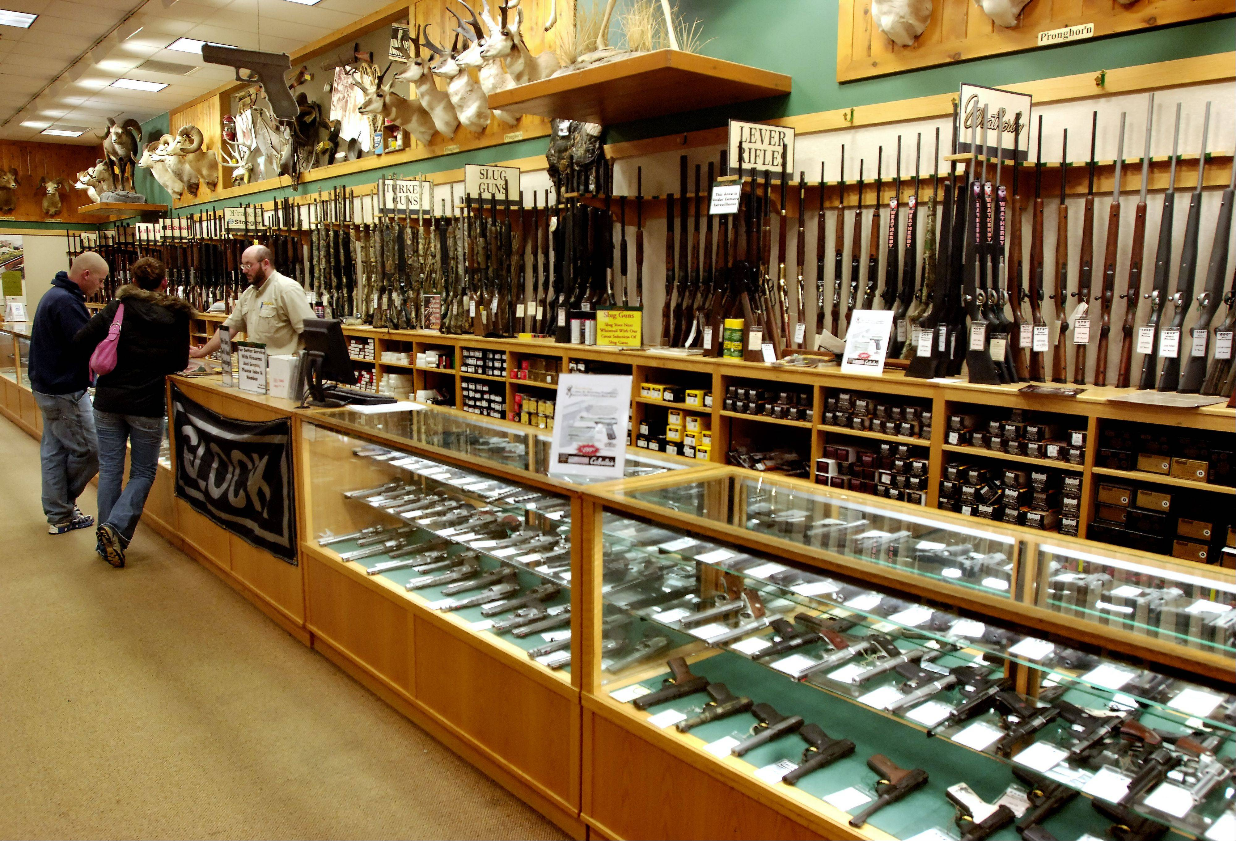 Illinois gun sellers say the rush to buy firearms since last Friday's school shootings in Connecticut appears to be about self-defense -- though many buyers already own guns and appear to be adding to their collections amid talk of tougher restrictions on gun ownership.