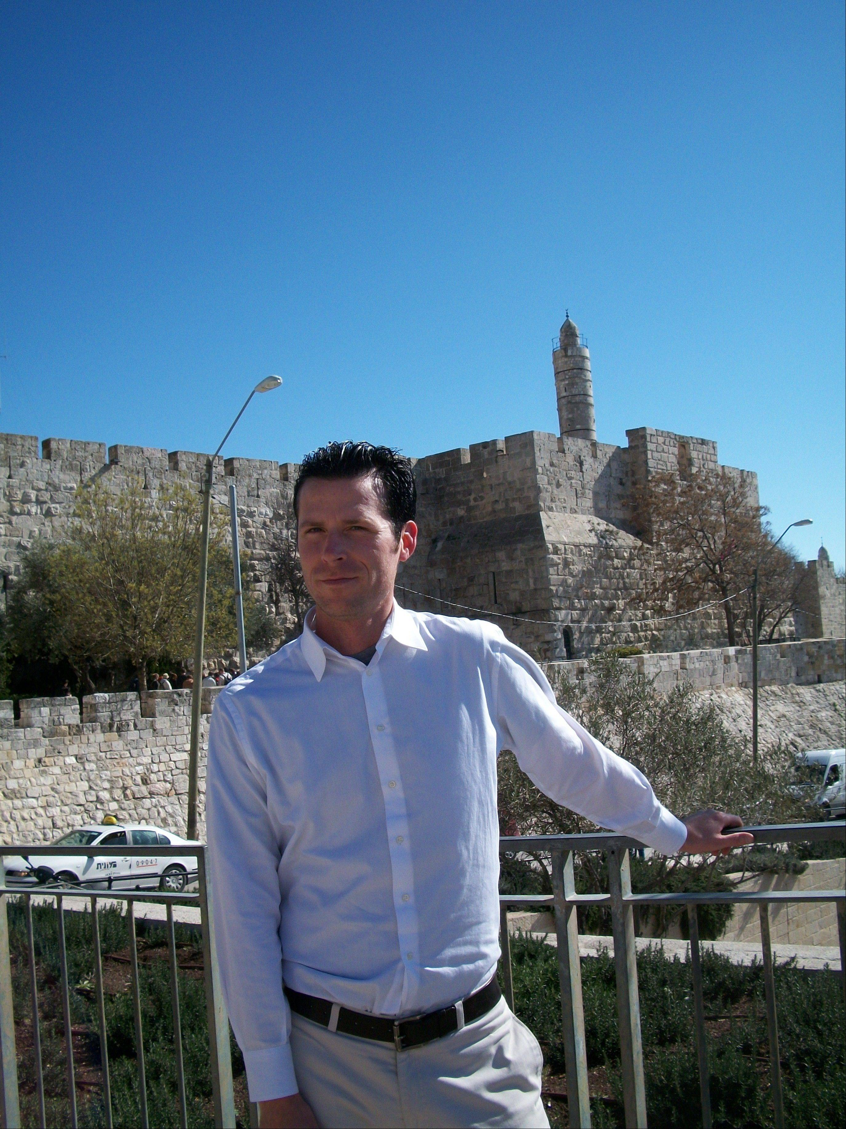 While attending graduate school in Israel, Lombard native Tom Meyer visited many biblical locations, such as this spot in Jerusalem.
