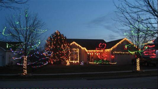 """It's a Ring thing,"" says Tina Ring about the display at 886 Tiffany Farms Road in Antioch. ""At our house, Christmas would not be Christmas without decking the halls! It's our gift to all that drive by. Enjoy!!! Merry Christmas!"""