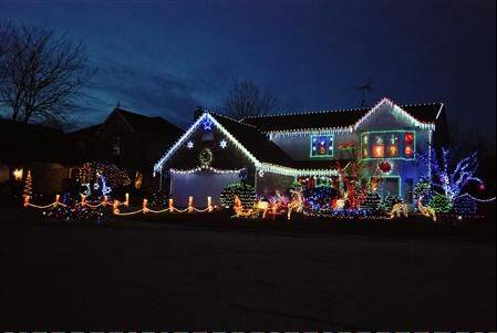 A tradition that started in our previous home has carried over to Mount Prospect, says Ashbel Lanzar. The display, which placed fifth in our contest, contain 30 standup figurines and 11,000 LED lights at 1710 Liberty Court in Mount Prospect.