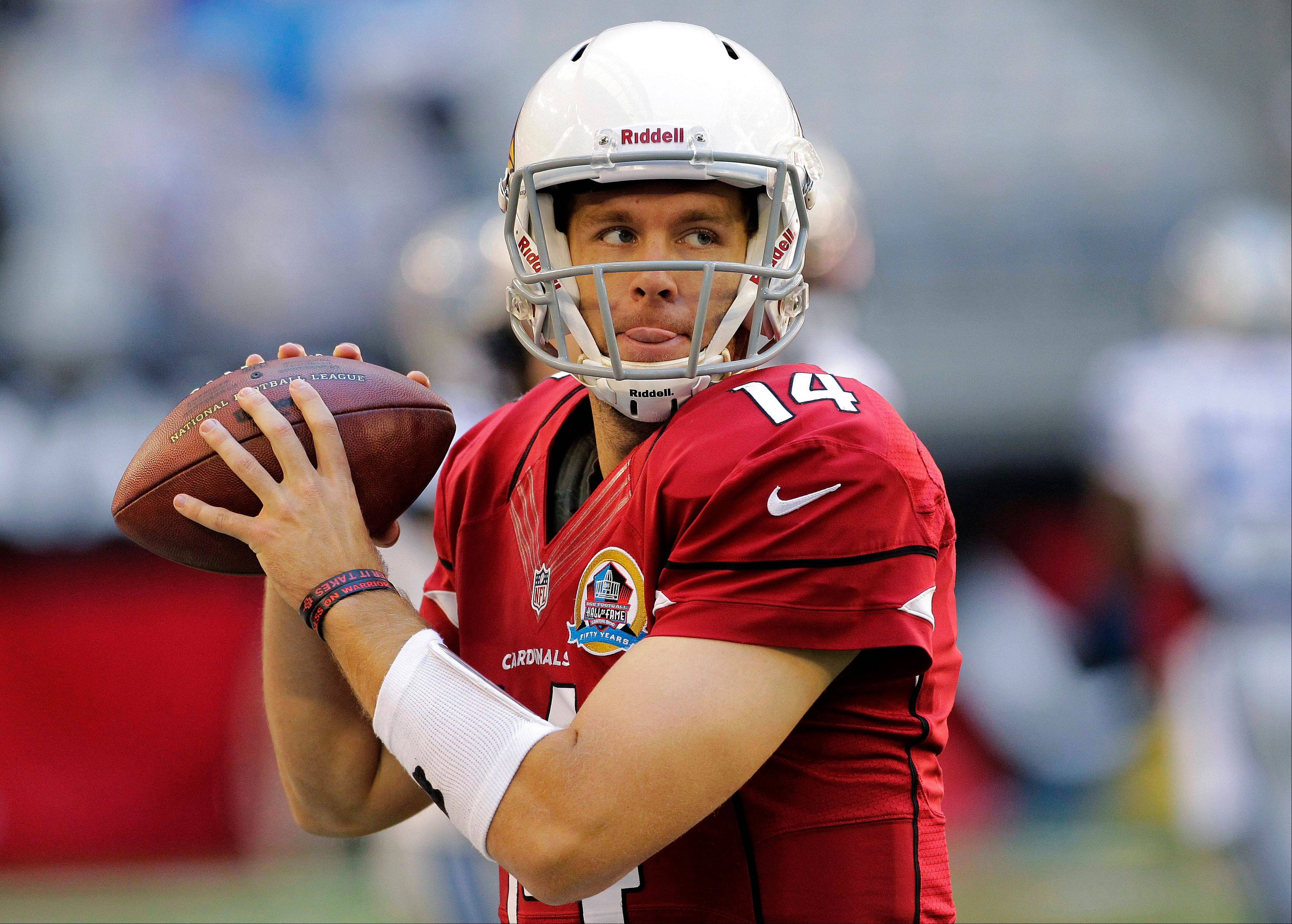 Cardinals rookie quarterback Ryan Lindley will be making his fourth NFL start Sunday when the Bears visit Arizona.